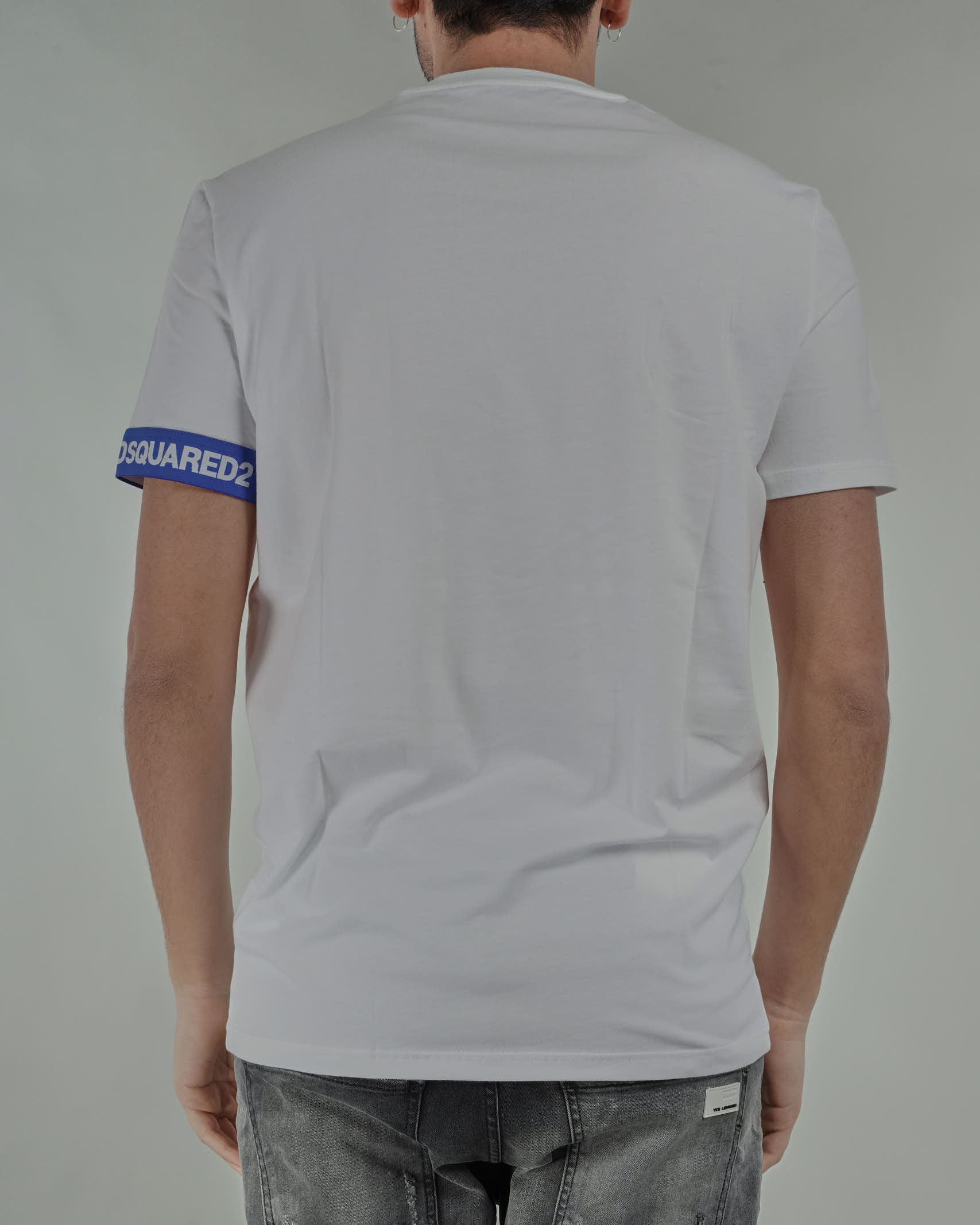 T-shirt basica con logo Brothers Dsquared DSQUARED | T-shirt | D9M3S3550100