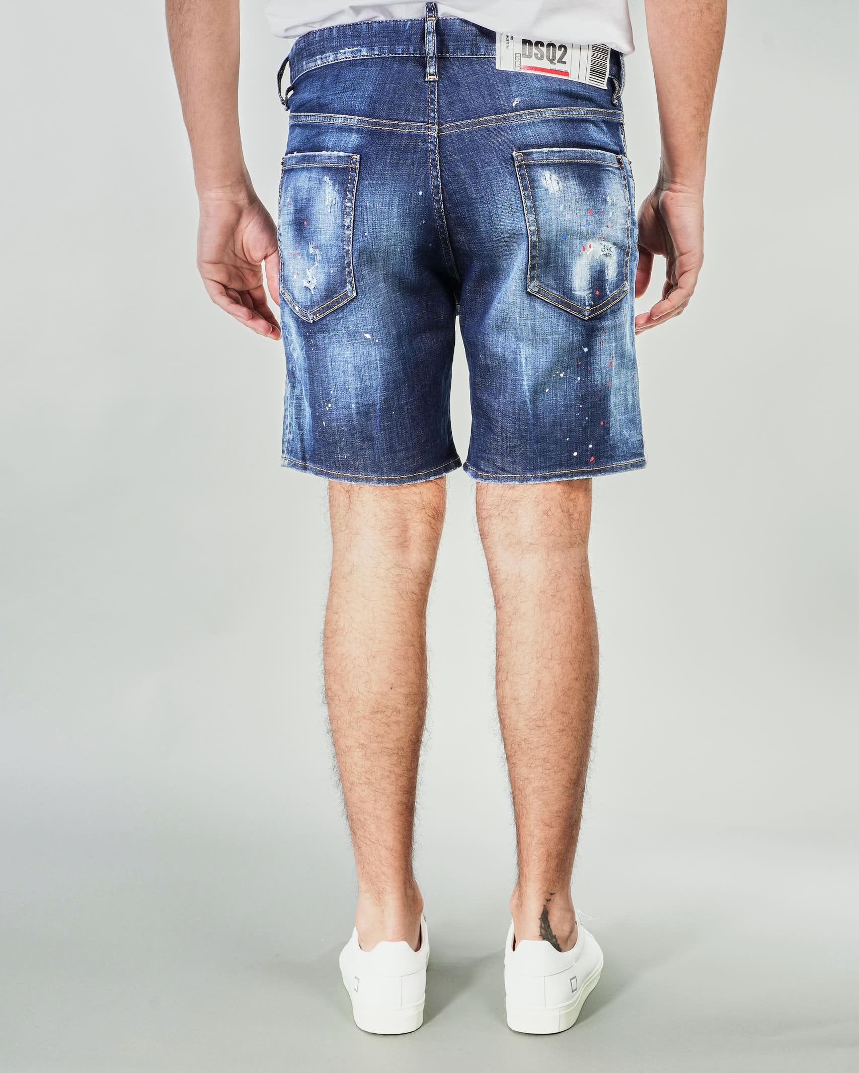 Bermuda lavaggio medio Dsquared DSQUARED | Jeans | S71MU0629DENIM