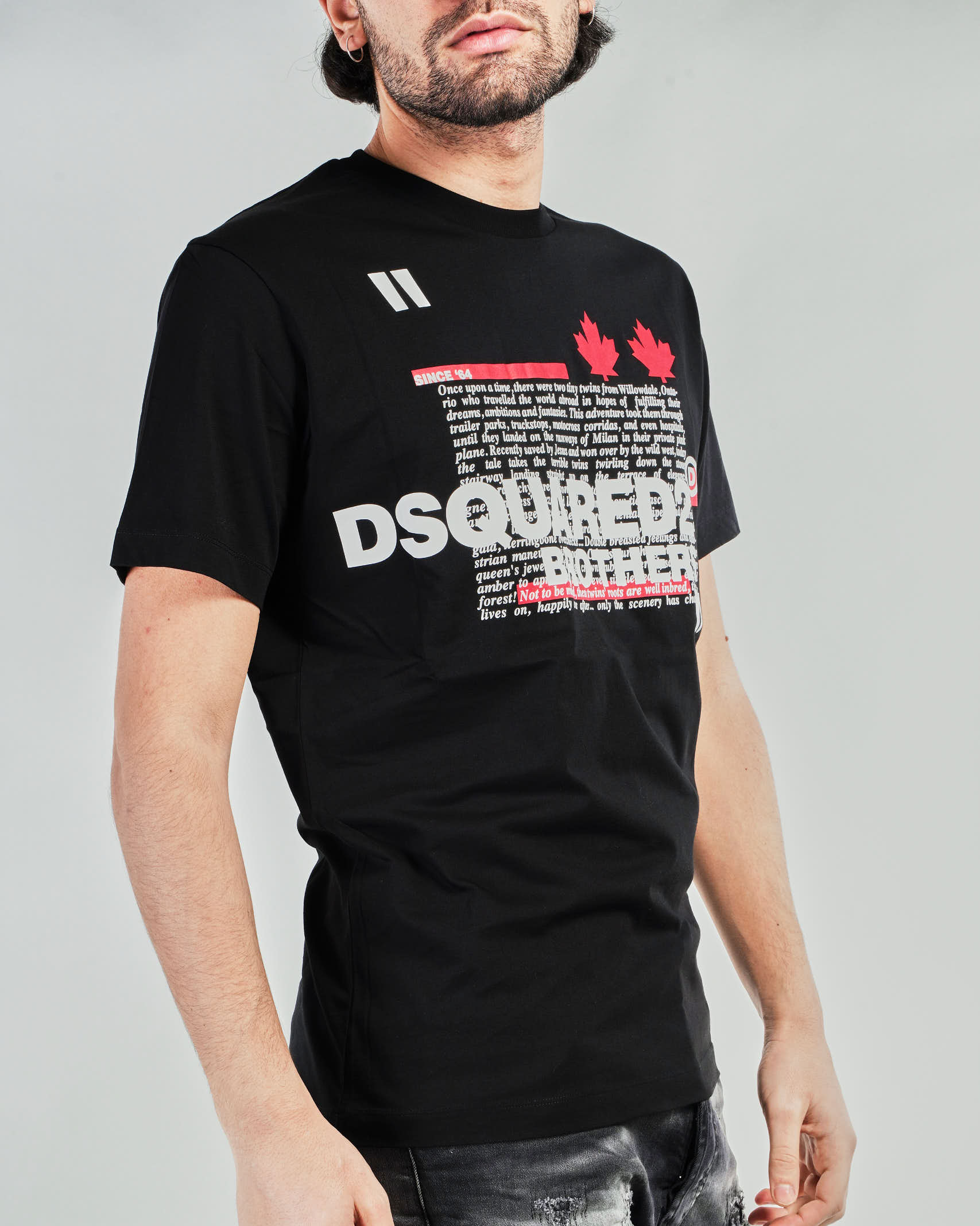 T-shirt Brothers Dsquared DSQUARED | T-shirt | S74GD0811NERO