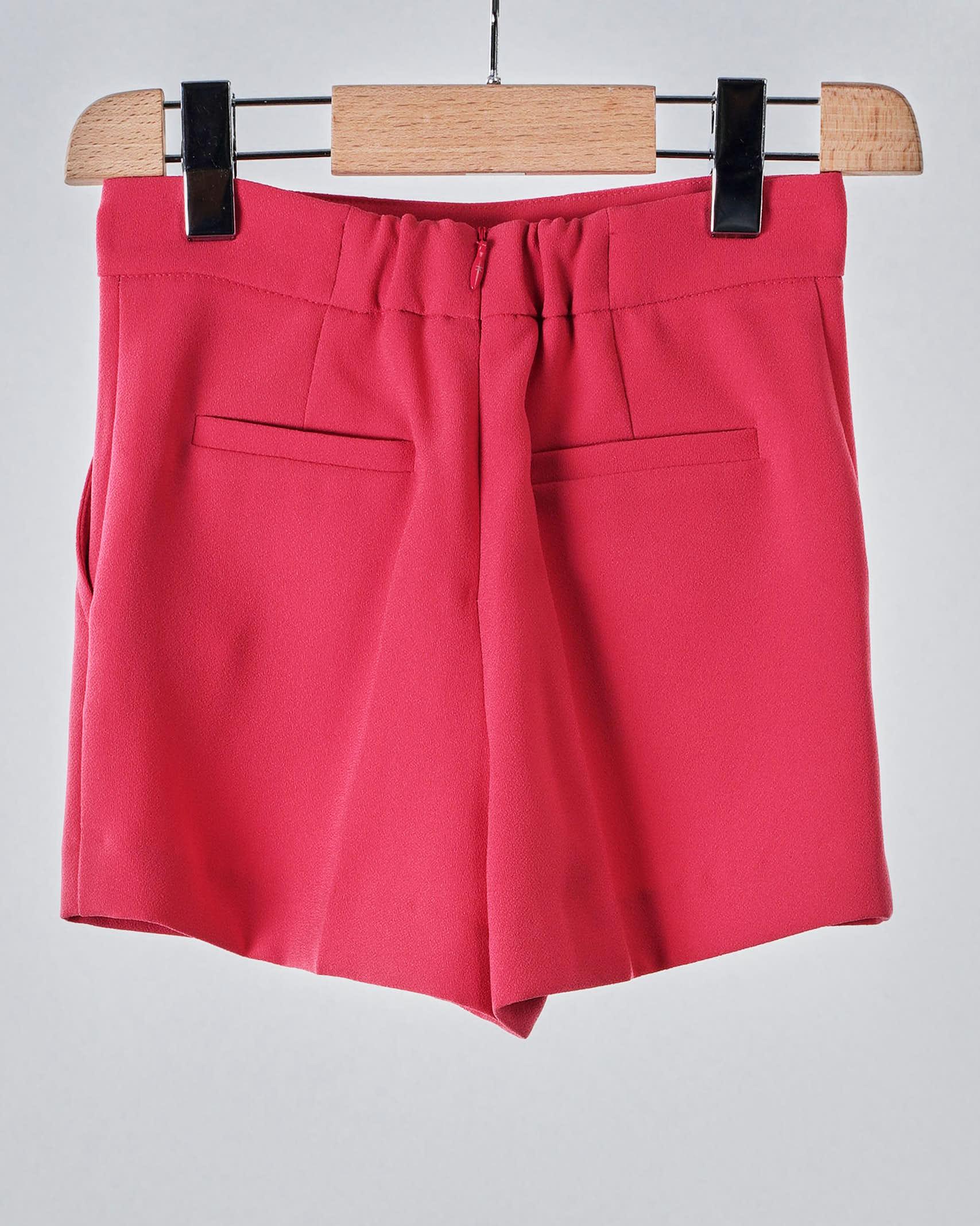 Shorts con bottoni oro light Elisabetta Franchi La Mia Bambina ELISABETTA FRANCHI LA MIA BAMBINA | Shorts | EFBE34GA85WE0253005