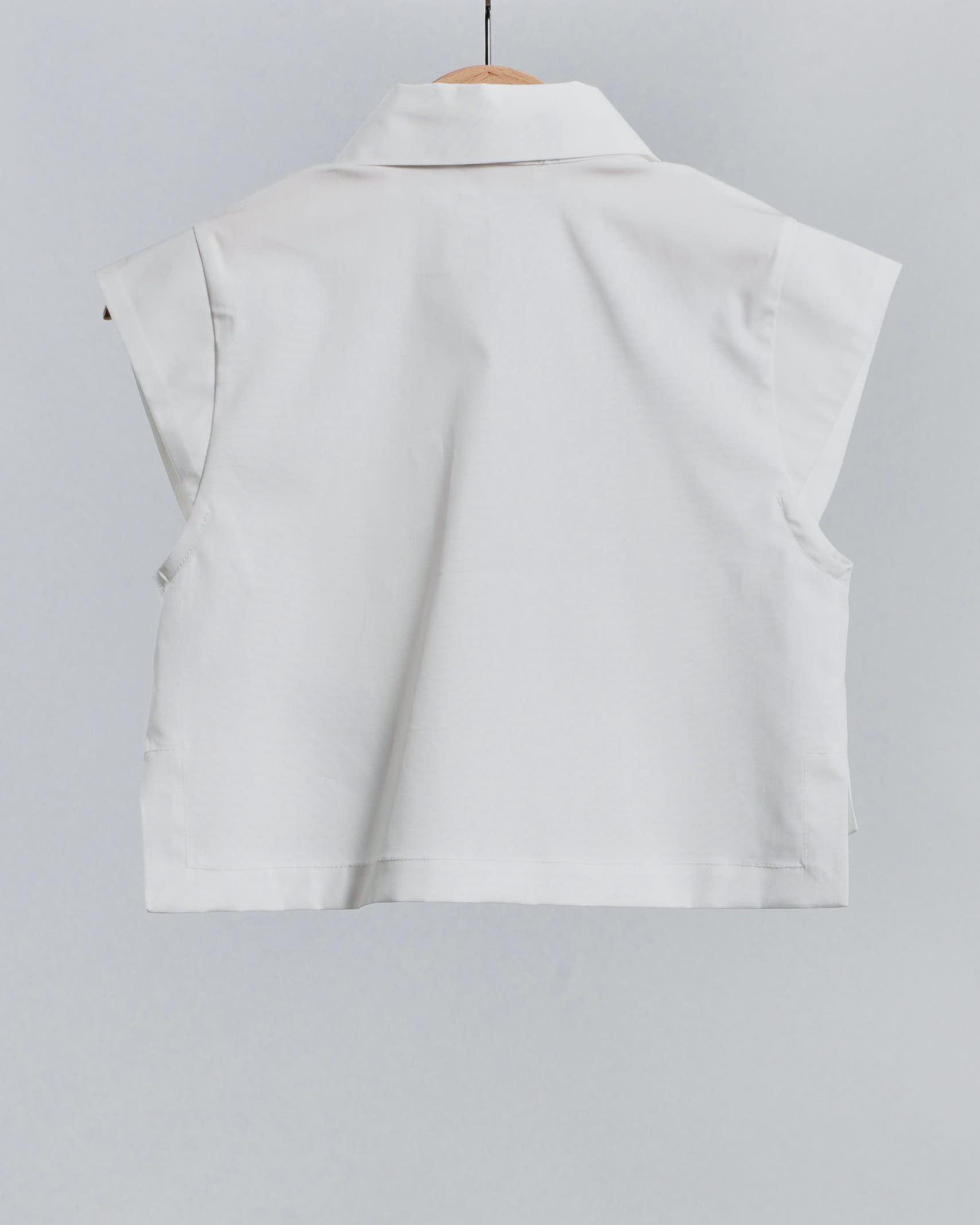 Camicia con logo ricamato Elisabetta Franchi La Mia Bambina ELISABETTA FRANCHI LA MIA BAMBINA   Camicia   EFCA129CE201WE02522