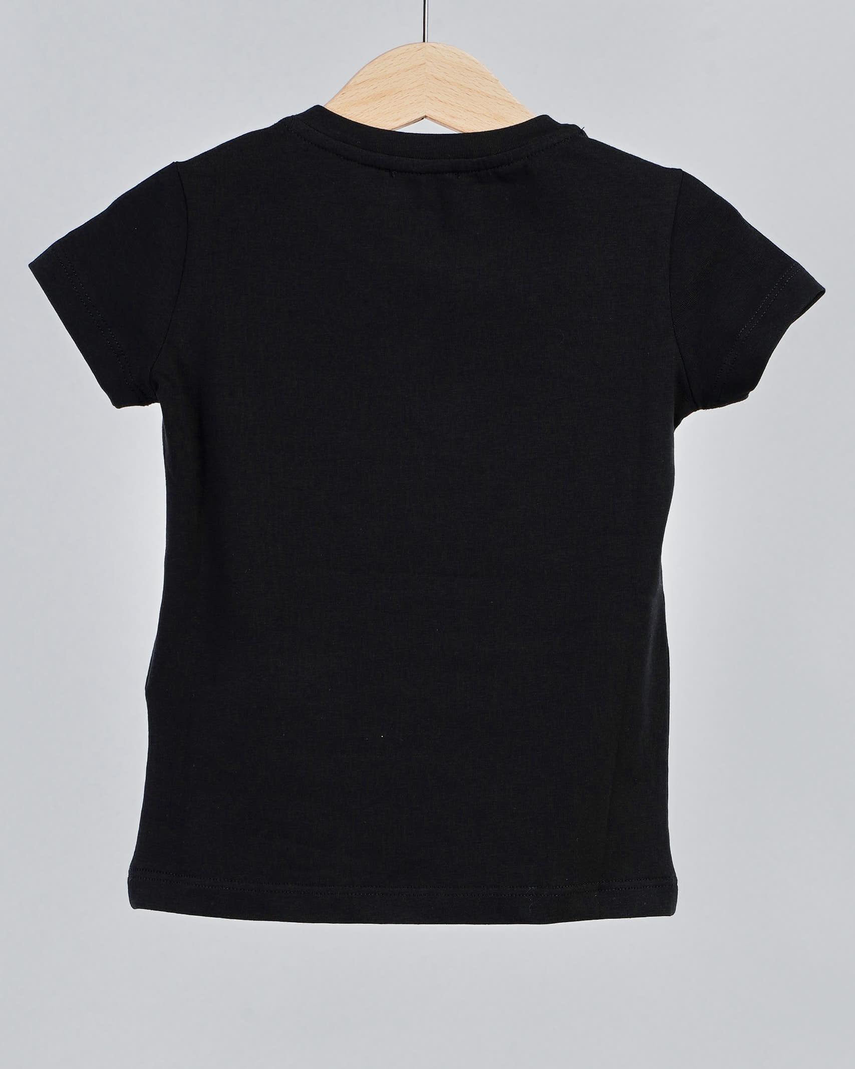T-shirt con bocca in paillettes Elisabetta Franchi La Mia Bambina ELISABETTA FRANCHI LA MIA BAMBINA | T-shirt | EFTS138JE95WE037N020