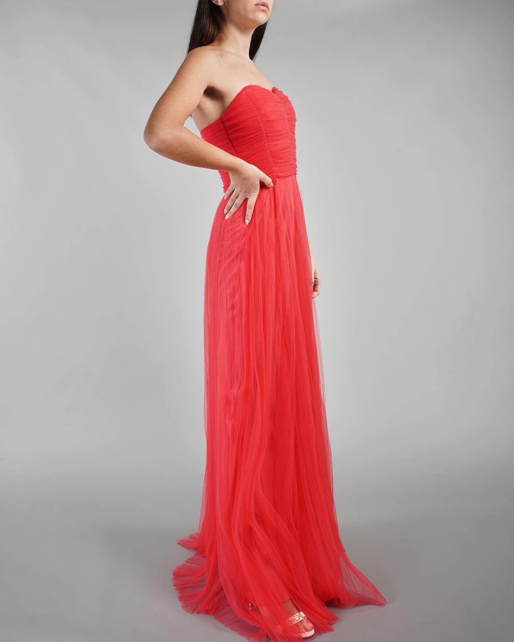 Abito Red Carpet in tulle Elisabetta Franchi ELISABETTA FRANCHI | Abito | AB09211E2620