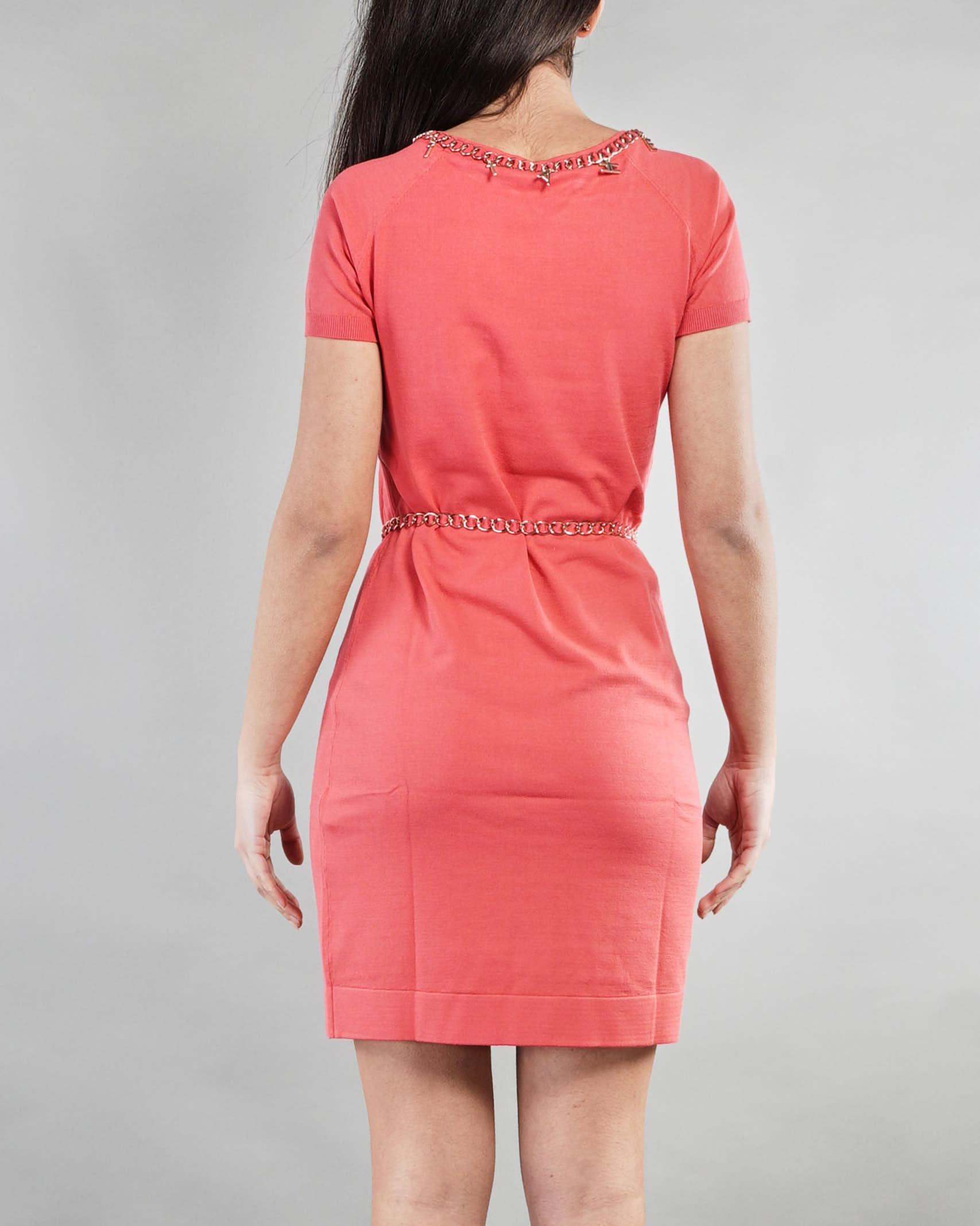 Mini dress con cintura e charms Elisabetta Franchi ELISABETTA FRANCHI   Abito   AM03S11E2620