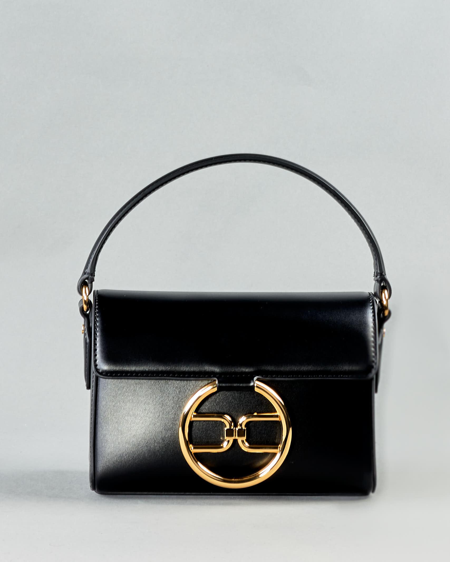 Micro bag con logo dorato Elisabetta Franchi ELISABETTA FRANCHI | Borsa | BS04A11E2110
