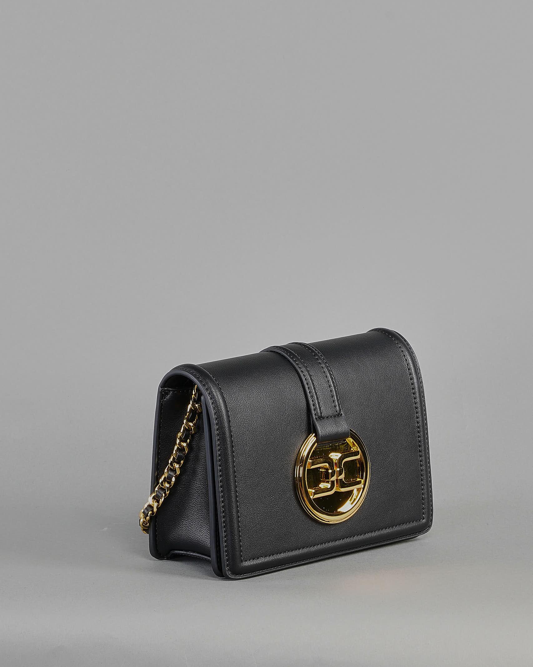 Tracollina con logo pendente dorato Elisabetta Franchi ELISABETTA FRANCHI | Borsa | BS06A11E2110