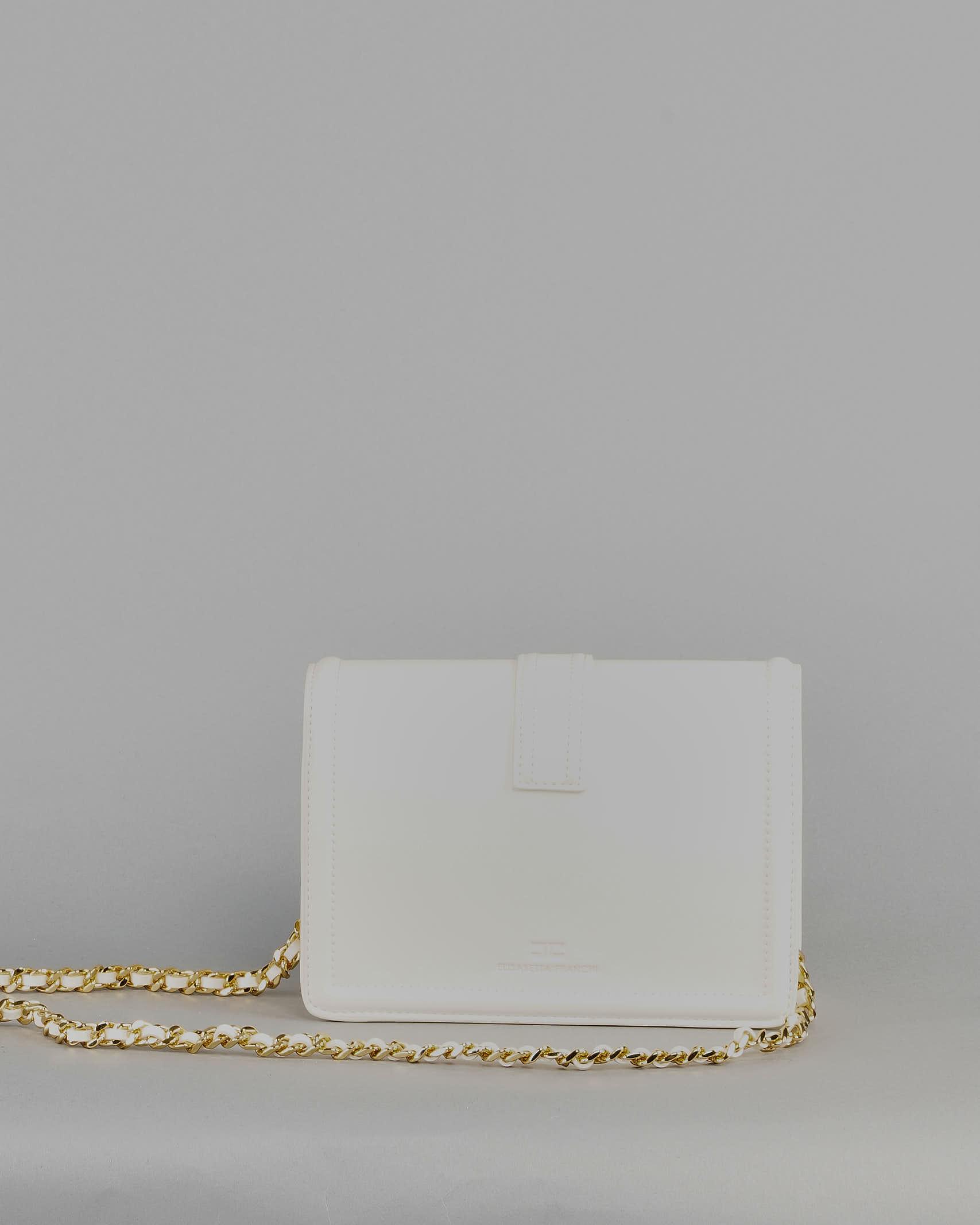 Tracollina con logo pendente dorato Elisabetta Franchi ELISABETTA FRANCHI | Borsa | BS06A11E2193