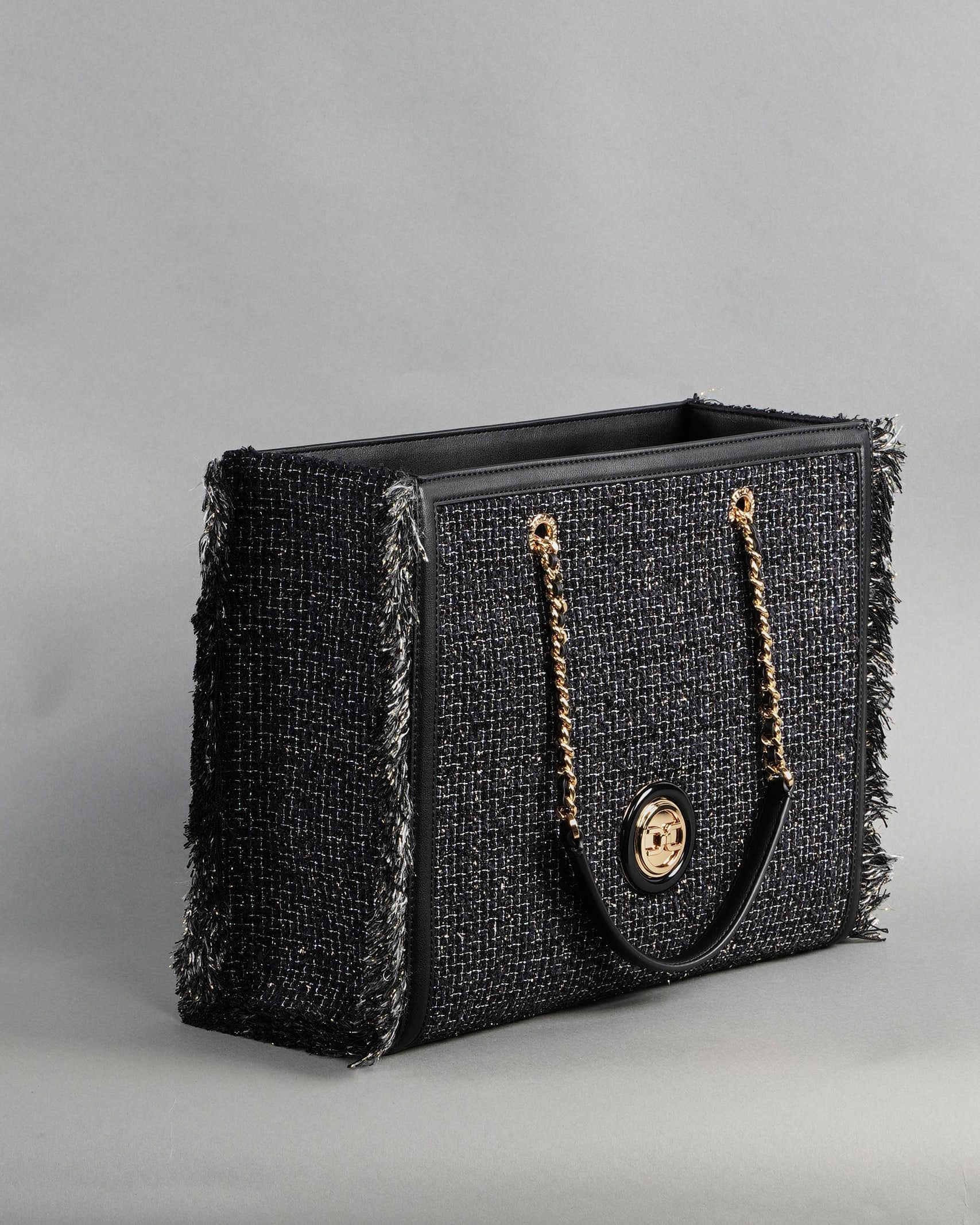 Tote bag in tweed Elisabetta Franchi ELISABETTA FRANCHI   Borsa   BS36A13E2110