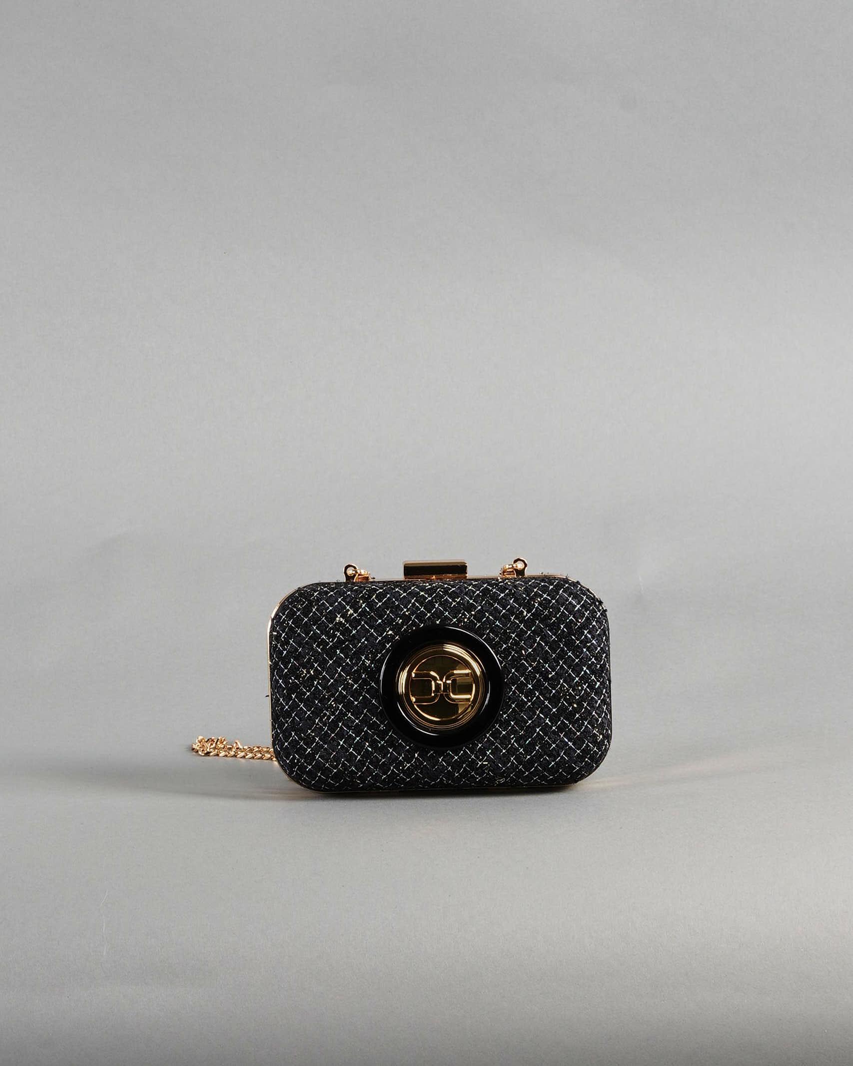 Mini clutch in tweed Elisabetta Franchi ELISABETTA FRANCHI | Borsa | BS37A13E2110