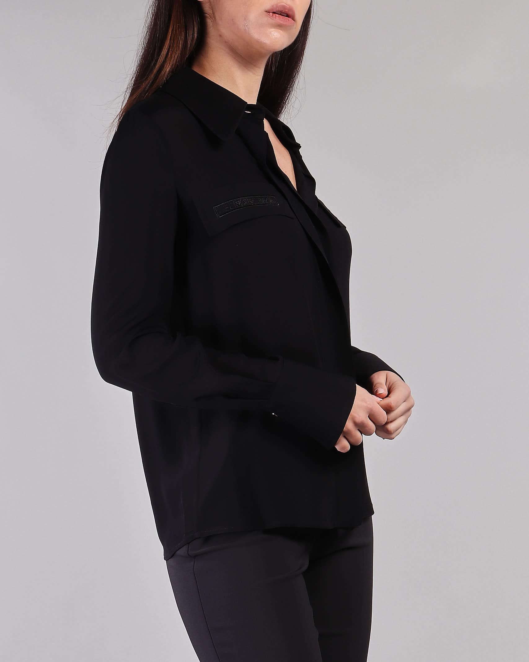 Camicia con ricamo in organza Elisabetta Franchi ELISABETTA FRANCHI   Camicia   CA28111E2110