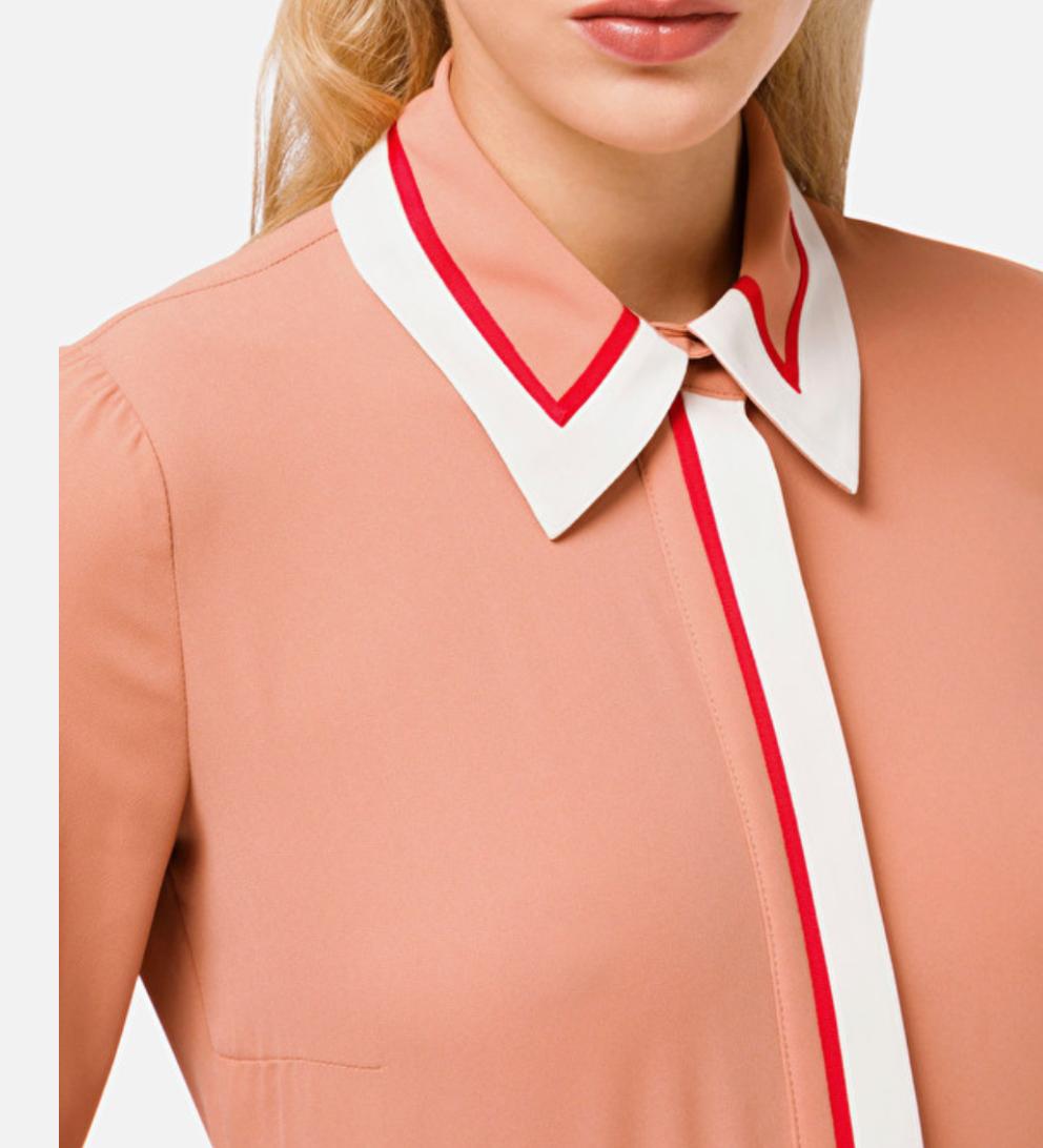 Camicia con bordi a contrasto Elisabetta Franchi ELISABETTA FRANCHI   Camicia   CA29206E2W77
