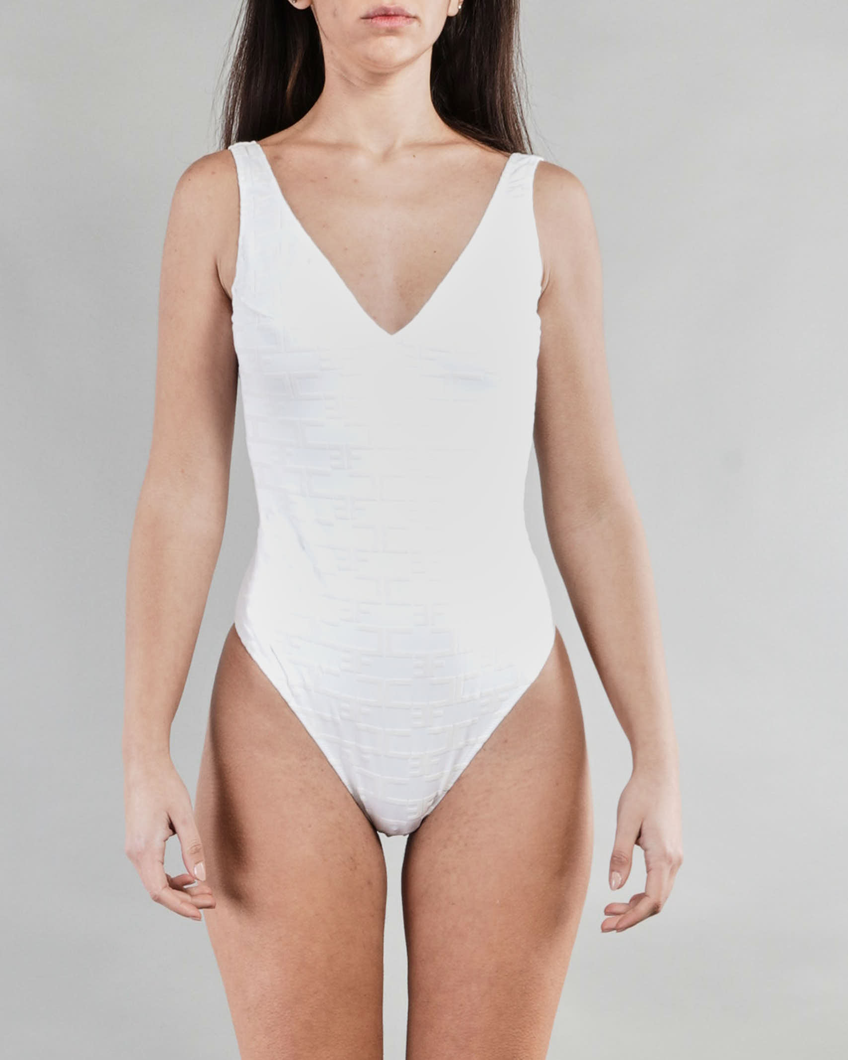 Bikini intero con stampa monogram Elisabetta Franchi ELISABETTA FRANCHI | Costume | CS22B11E2270