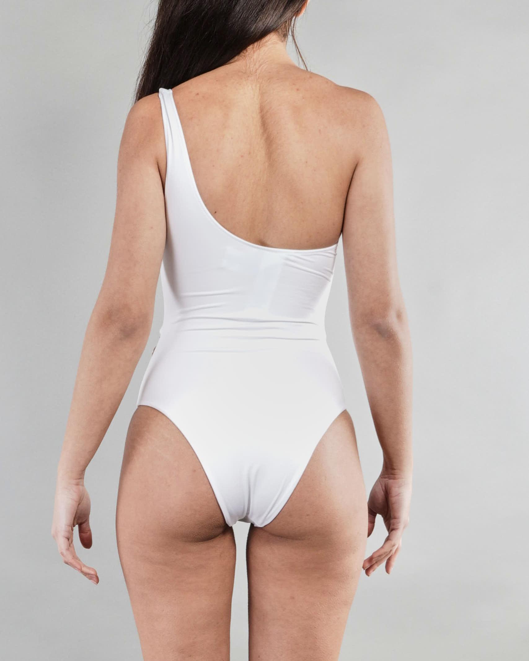 Bikini monospalla Made in Italy con charms Elisabetta Franchi ELISABETTA FRANCHI | Costume | CS39B11E2392