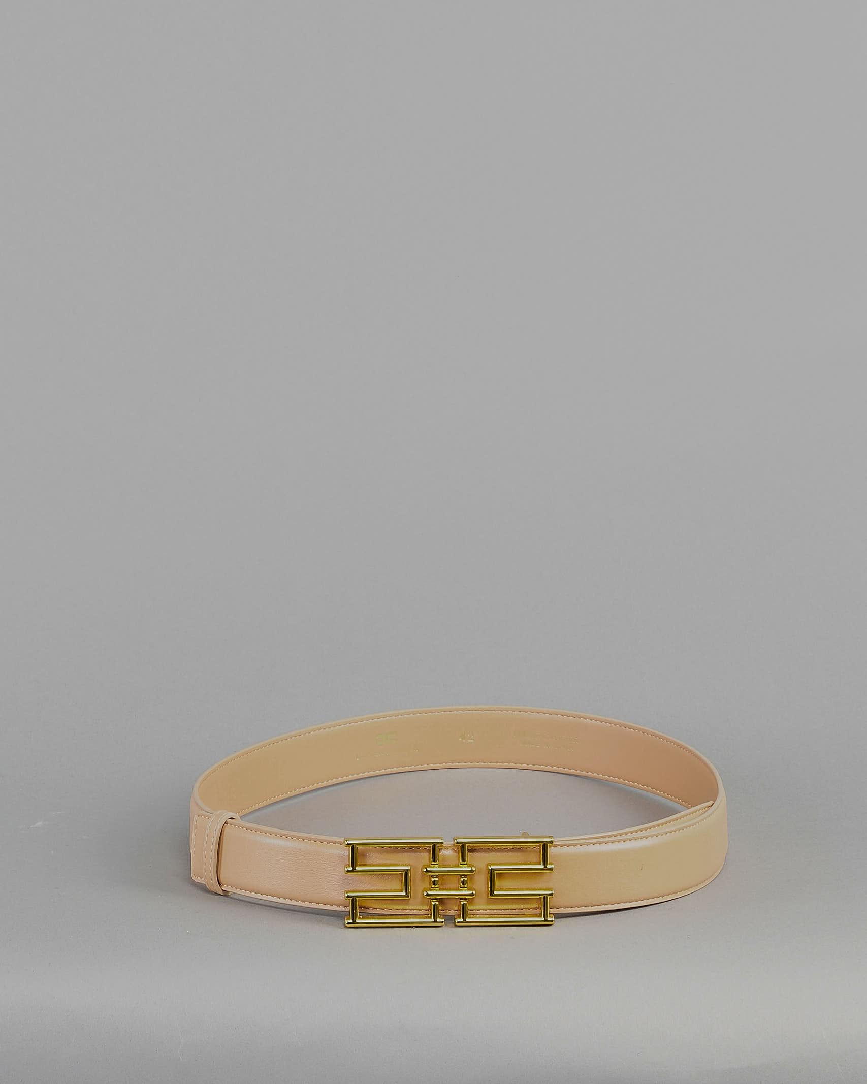 Cintura con logo Elisabetta Franchi ELISABETTA FRANCHI   Cintura   CT01S11E2470