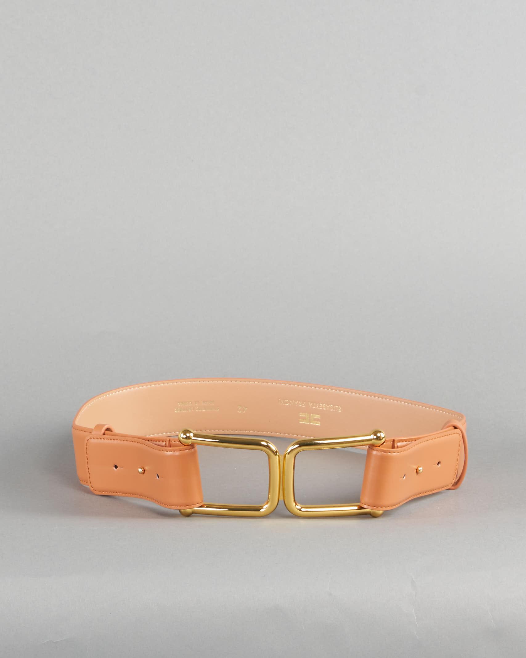 Cintura alta con maxi logo Elisabetta Franchi ELISABETTA FRANCHI | Cintura | CT02S11E2600