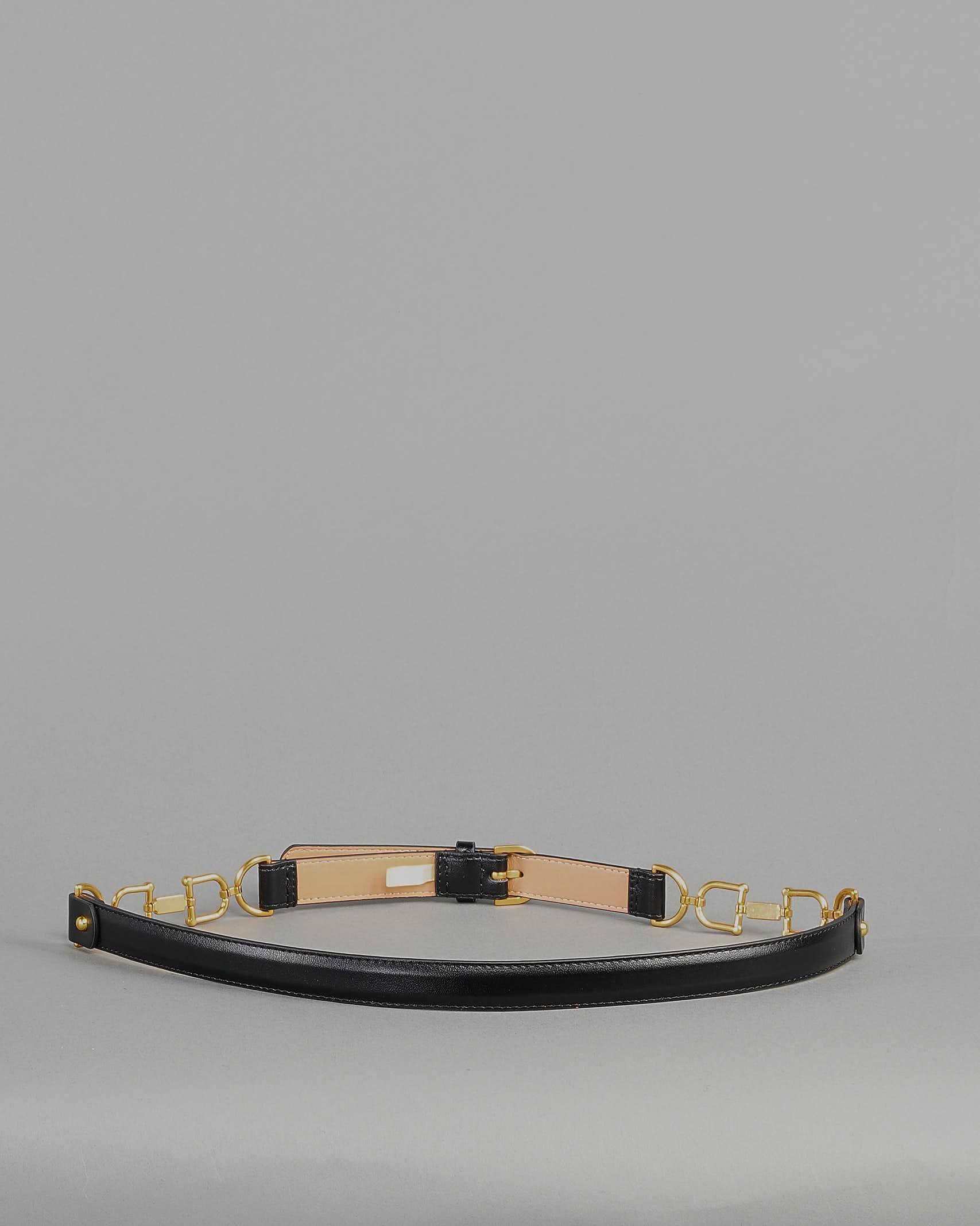 Cintura con morsetti oro Elisabetta Franchi ELISABETTA FRANCHI | Cintura | CT05S11E2110