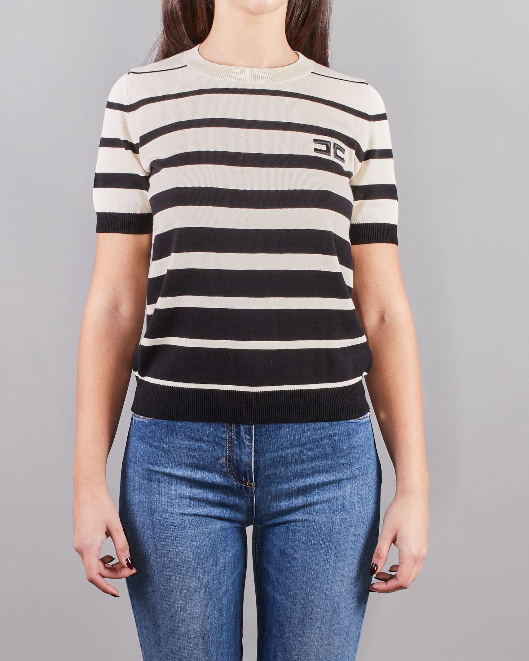 Maglia tricot a manica corta Elisabetta Franchi ELISABETTA FRANCHI   Maglia   MK11T11E2685