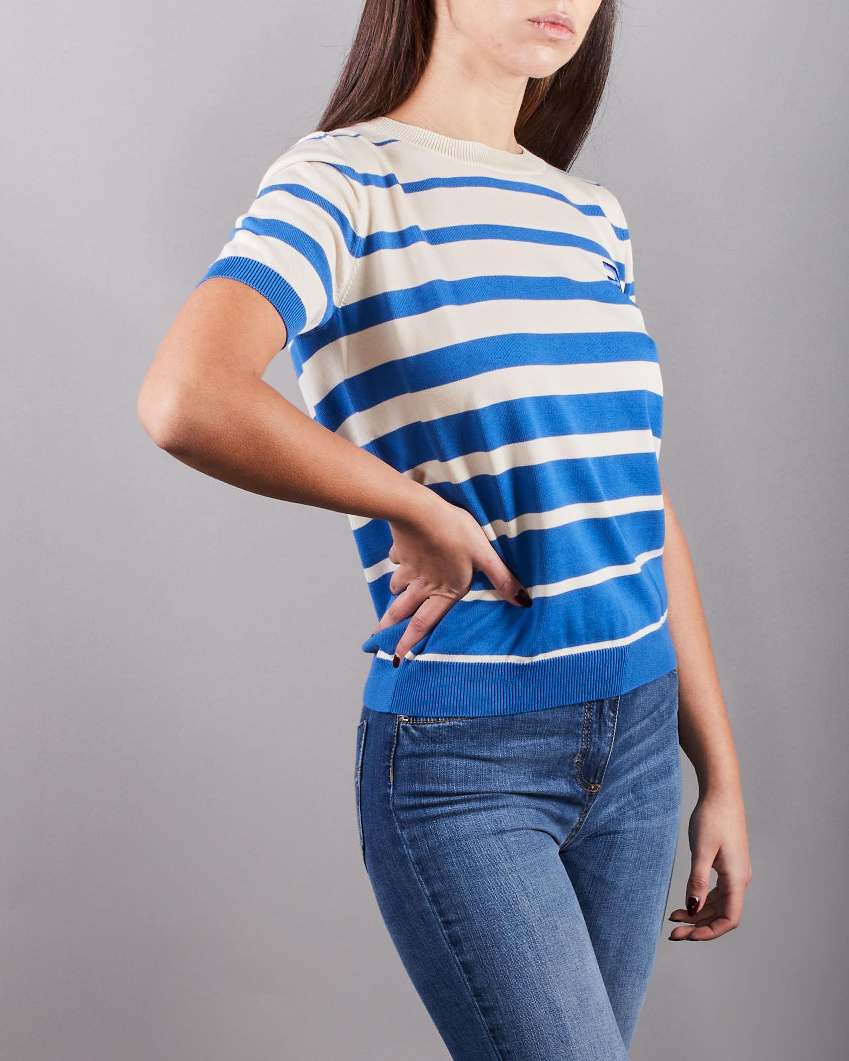 Maglia tricot a manica corta Elisabetta Franchi ELISABETTA FRANCHI | Maglia | MK11T11E2Q62