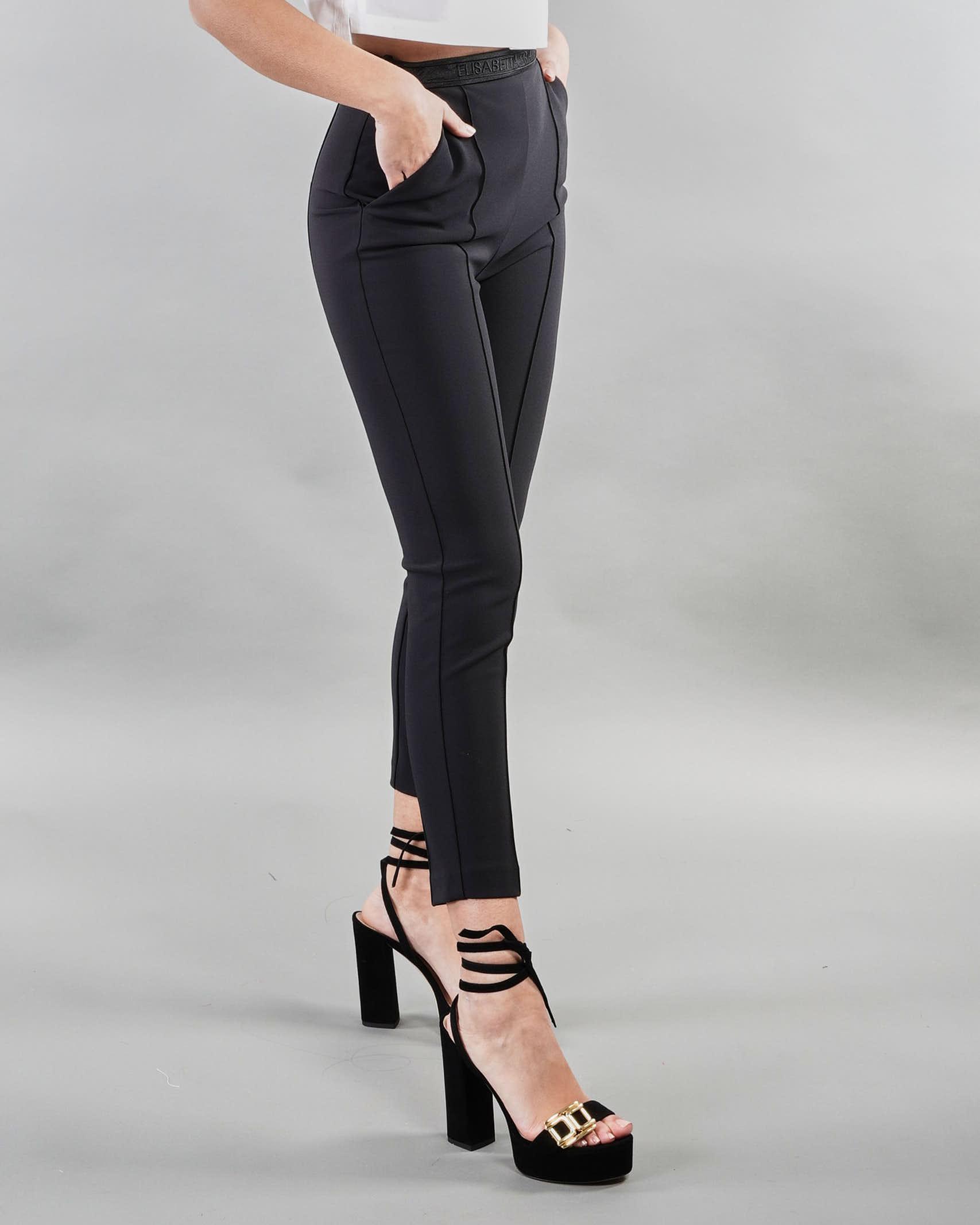 Pantalone classico a sigaretta Elisabetta Franchi ELISABETTA FRANCHI   Pantalone   PA33711E2110