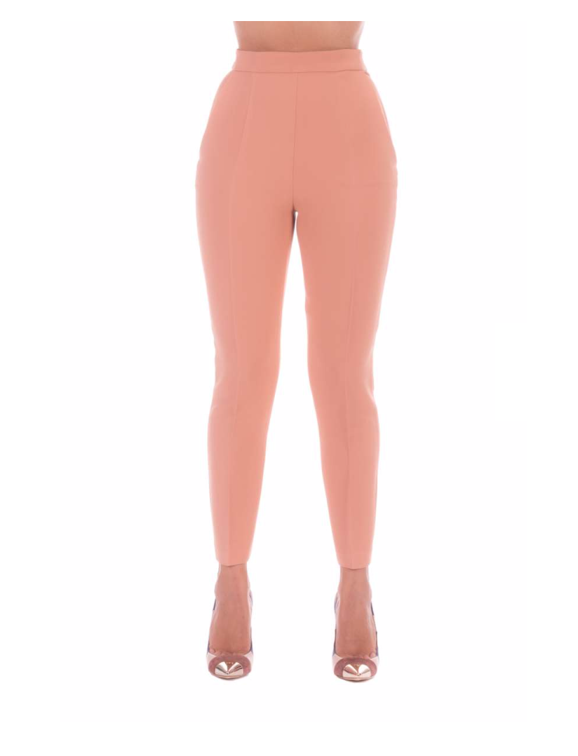 Pantalone in crèpe Elisabetta Franchi ELISABETTA FRANCHI | Pantalone | PA37007E2153