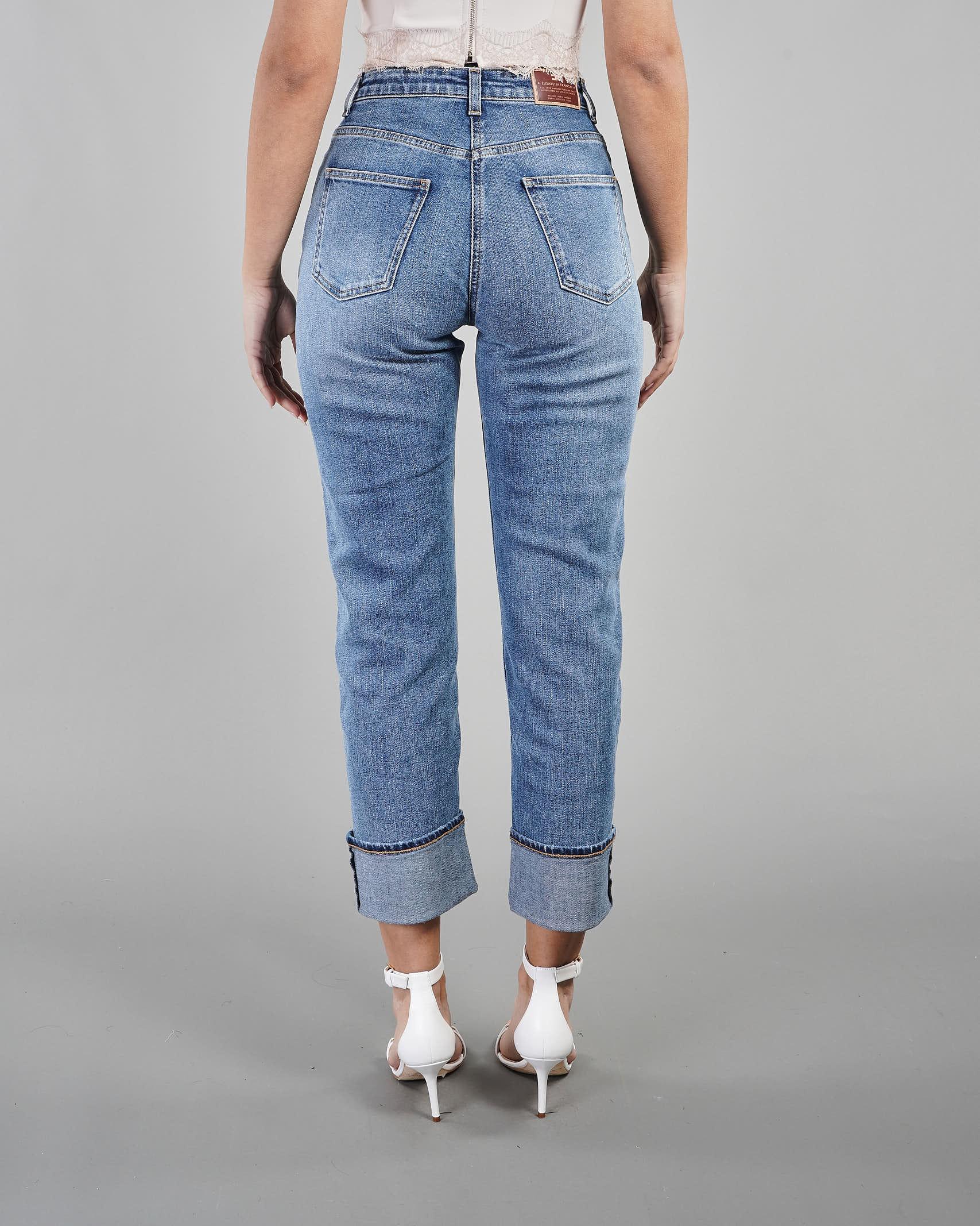 Jeans mom fit regular Elisabetta Franchi ELISABETTA FRANCHI | Jeans | PJ05I11E2192