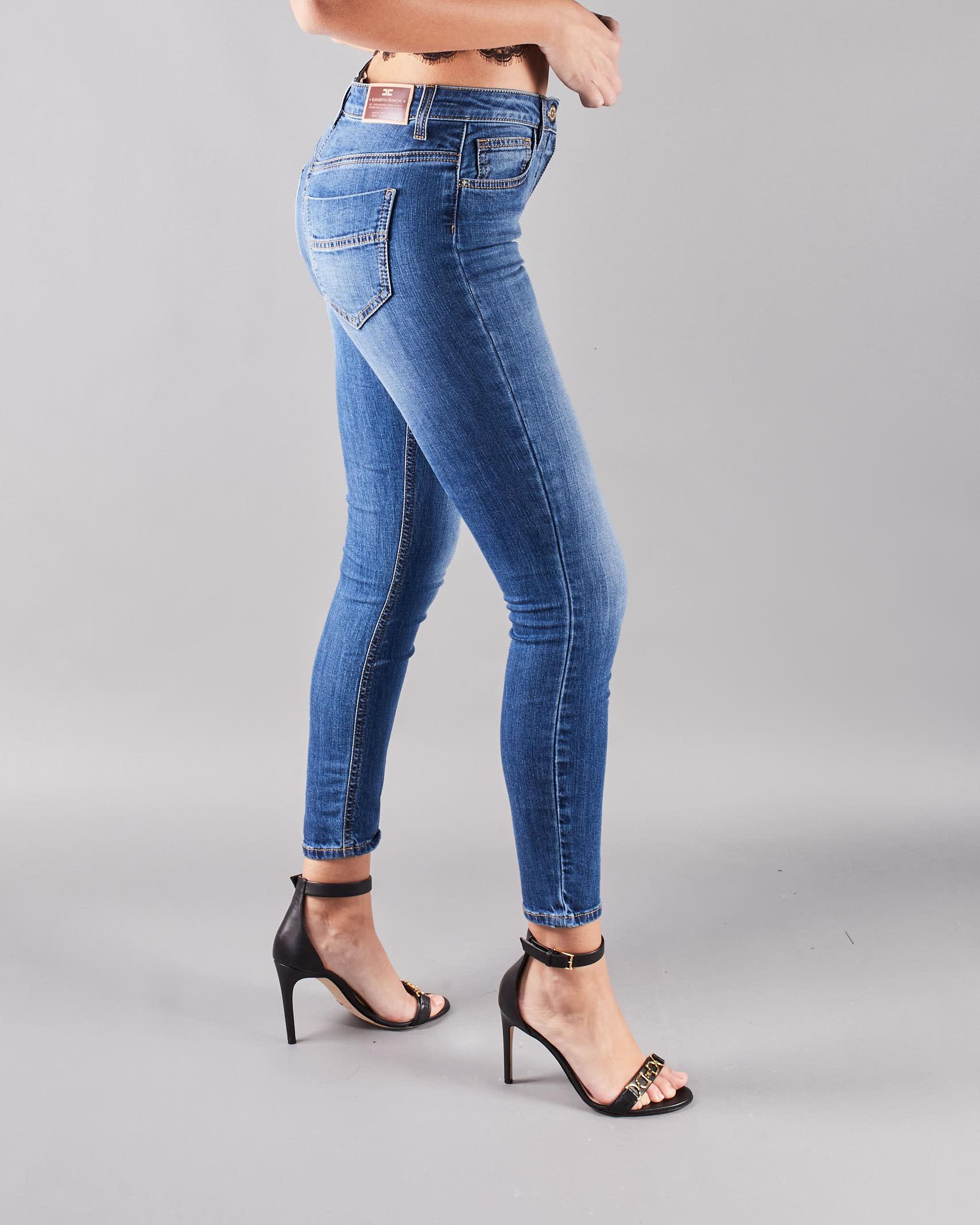 Jeans skinny Elisabetta Franchi ELISABETTA FRANCHI   Jeans   PJ07S11E2104