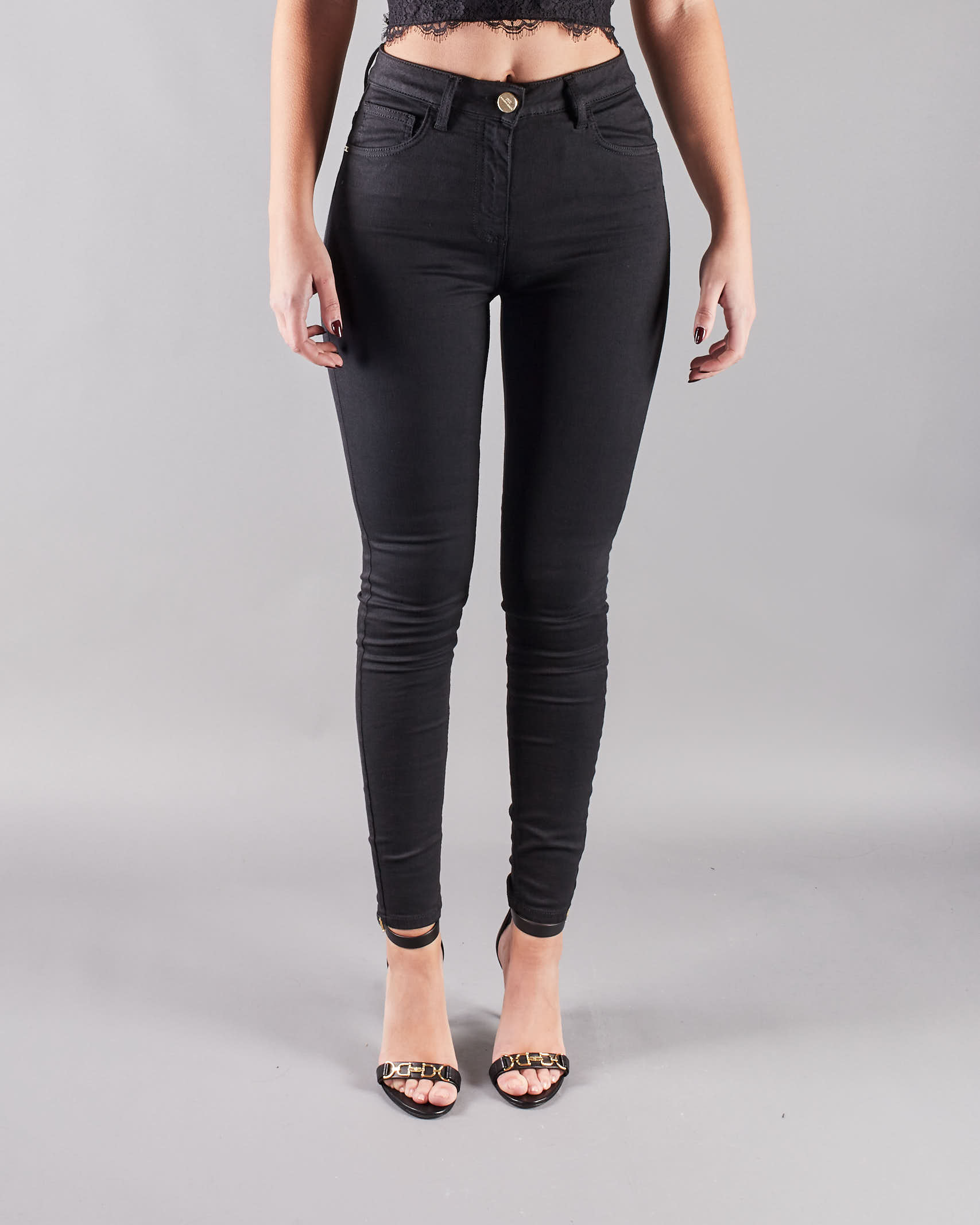 Jeans denim super skinny Elisabetta Franchi ELISABETTA FRANCHI | Jeans | PJ81S11E2110