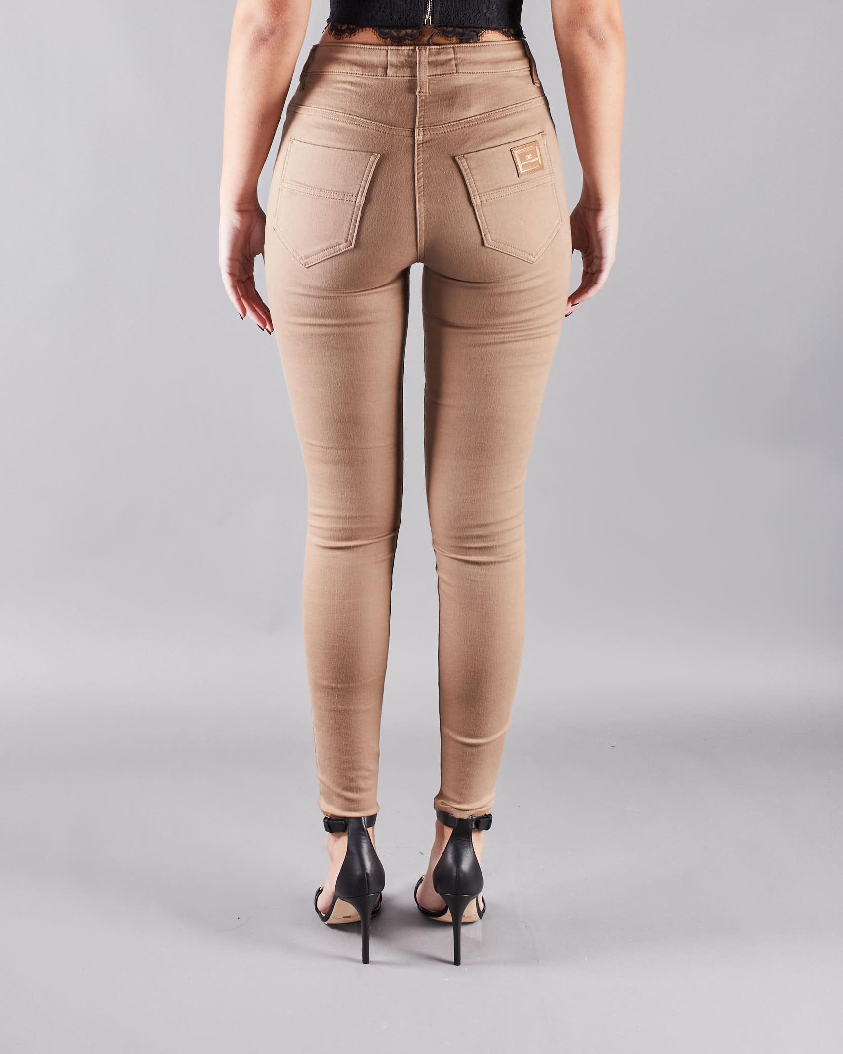 Jeans denim super skinny Elisabetta Franchi ELISABETTA FRANCHI   Jeans   PJ81S11E2390