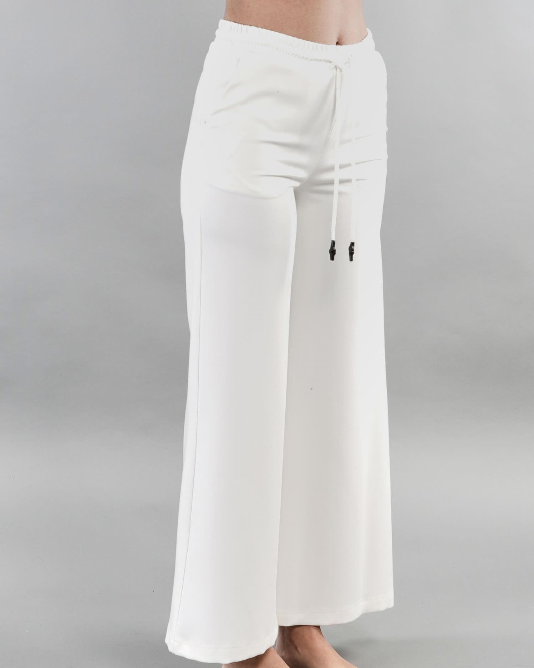 Pantalone cropped Imperial IMPERIAL   Pantalone   P9990044LBIANCO