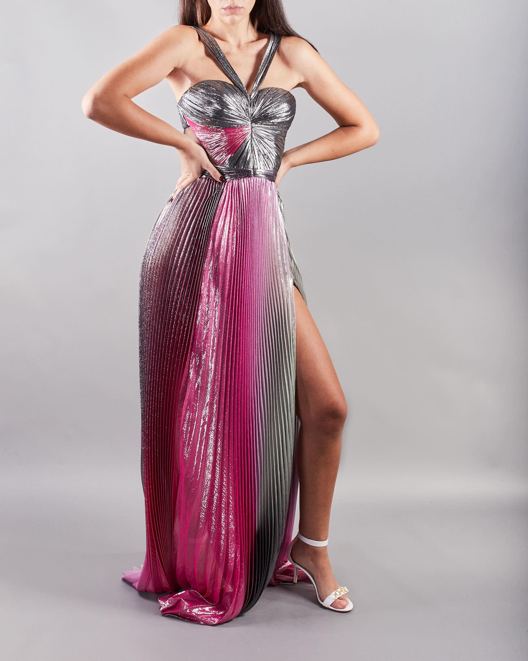 Abito lungo multicolor Iris Serban IRIS | Abito | OMBRE13AS