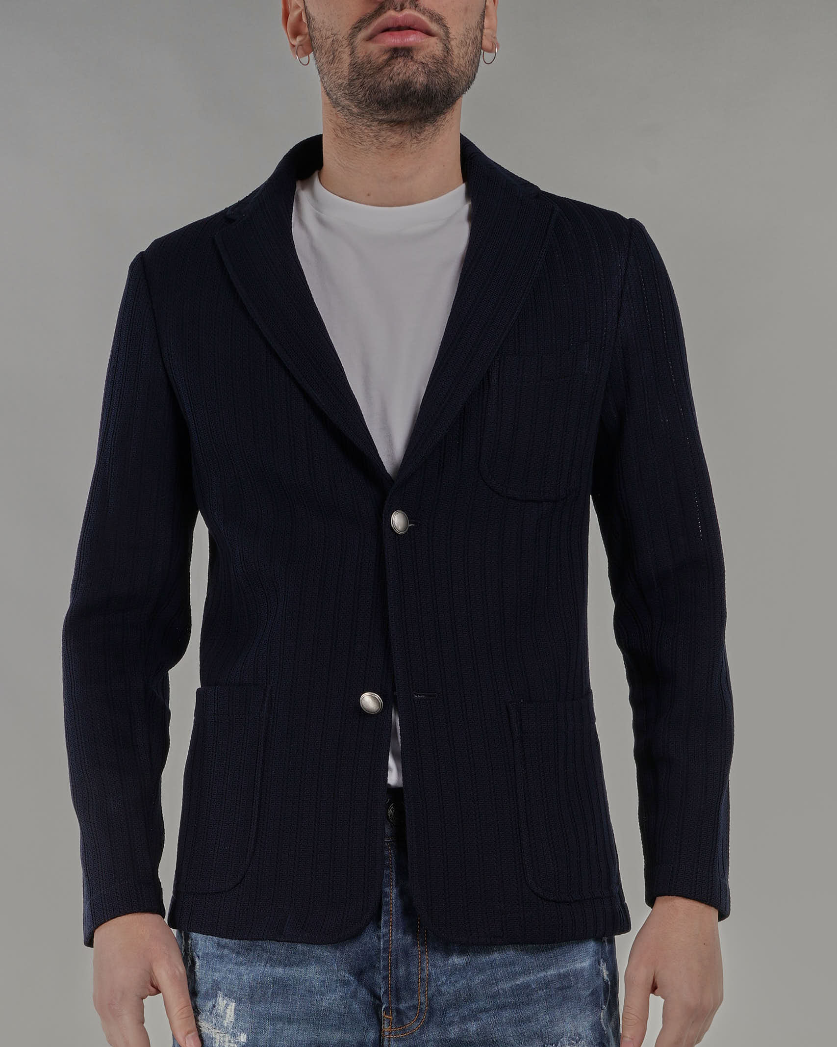 Giacca in maglia microforata Jeordie's JEORDIE'S | Giacca | 77130400