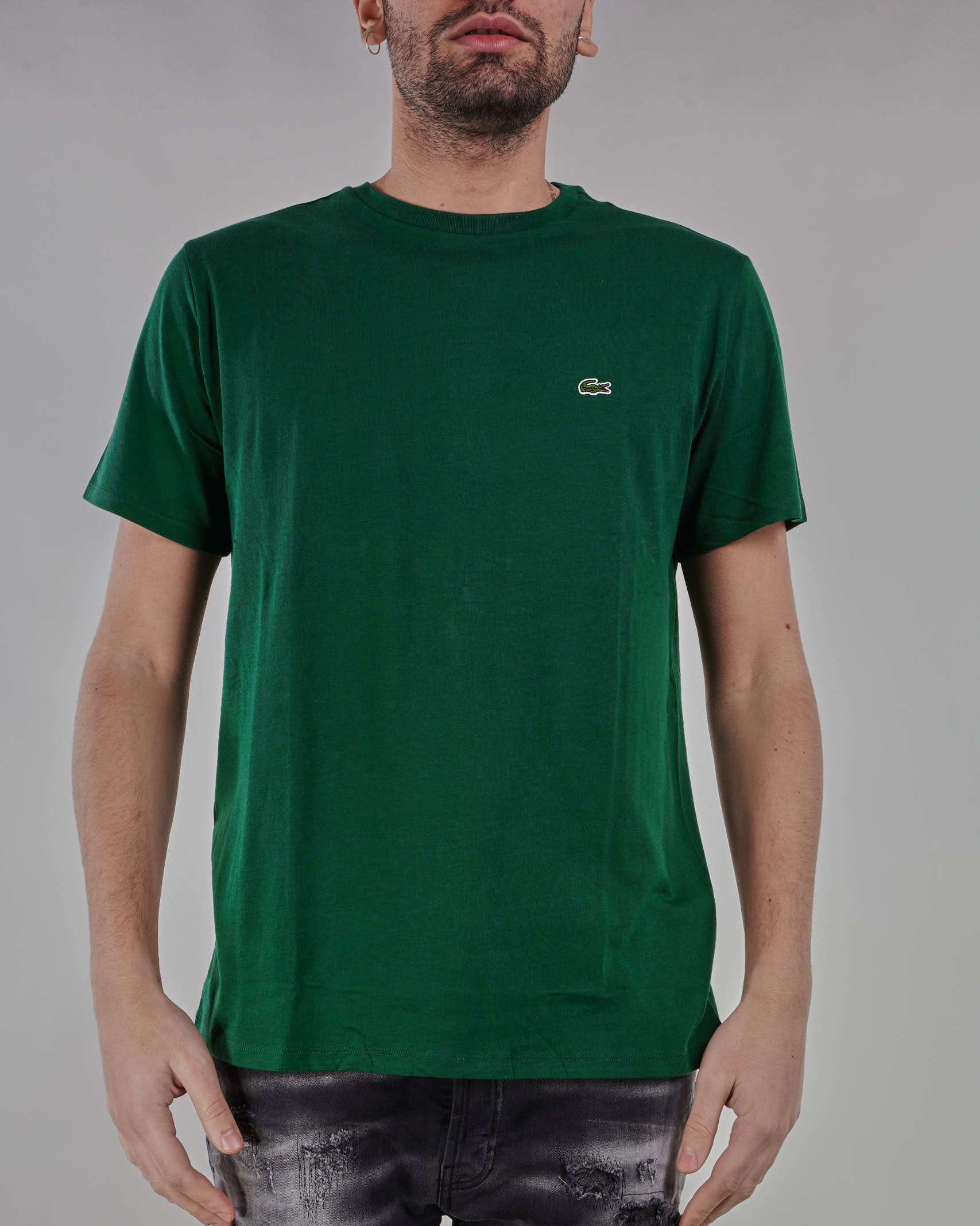 T-shirt in jersey di cotone Pima Lacoste LACOSTE | T-shirt | TH6709132