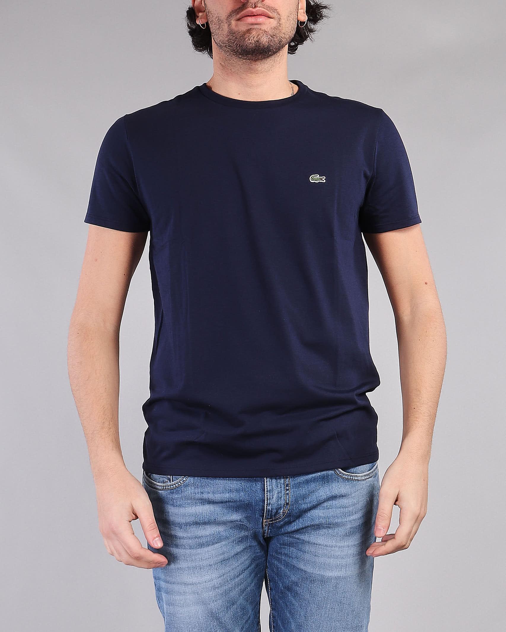 T-shirt in jersey di cotone Pima Lacoste LACOSTE | T-shirt | TH6709166
