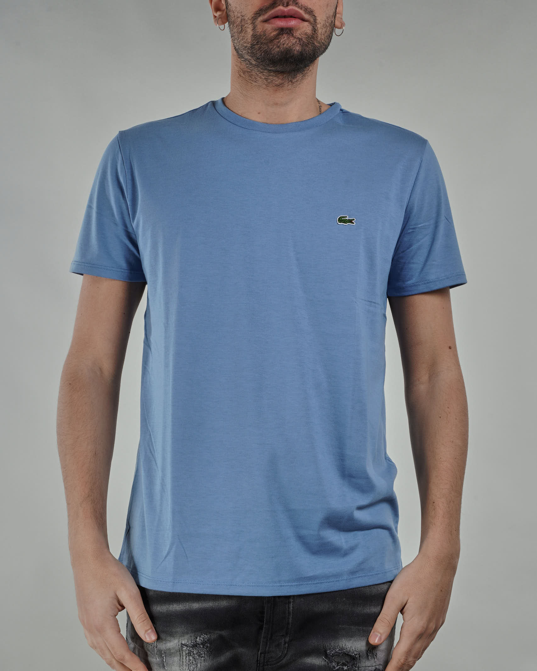 T-shirt in jersey di cotone Pima Lacoste LACOSTE | T-shirt | TH6709776