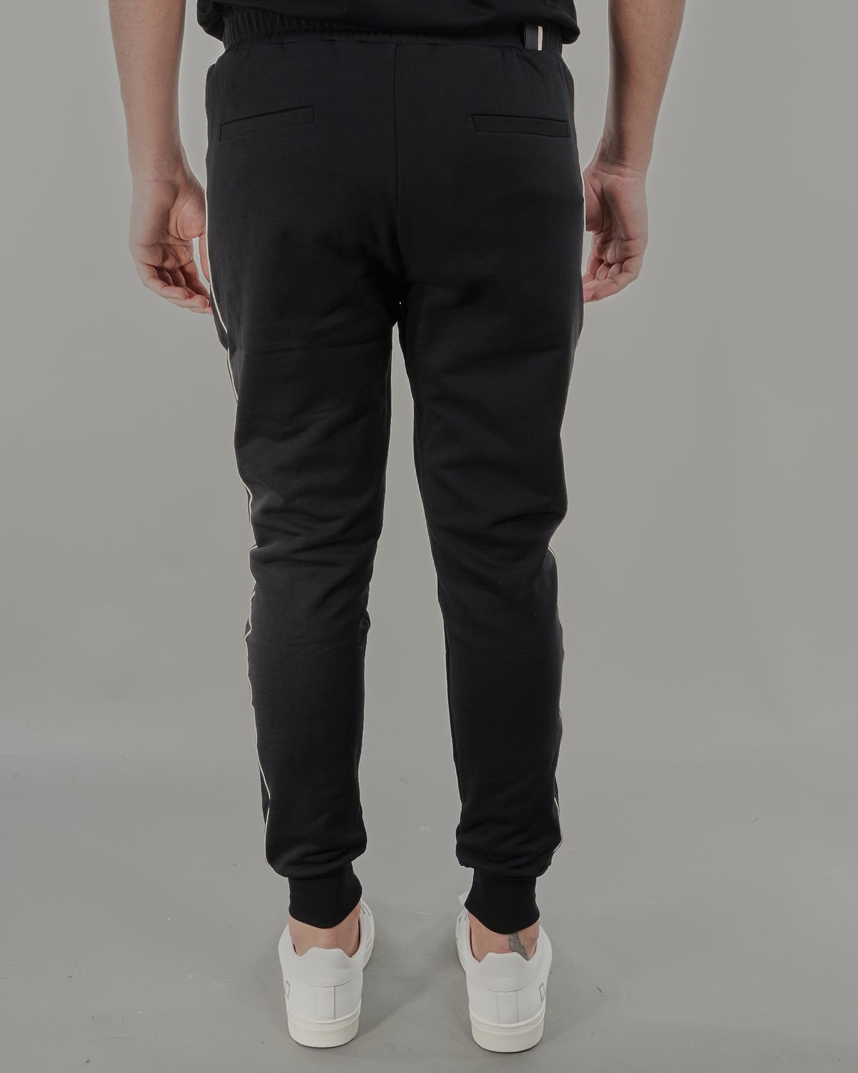 Pantalone con bande laterali a contrasto Low Brand LOW BRAND | Pantalone | L1FSS215733D001