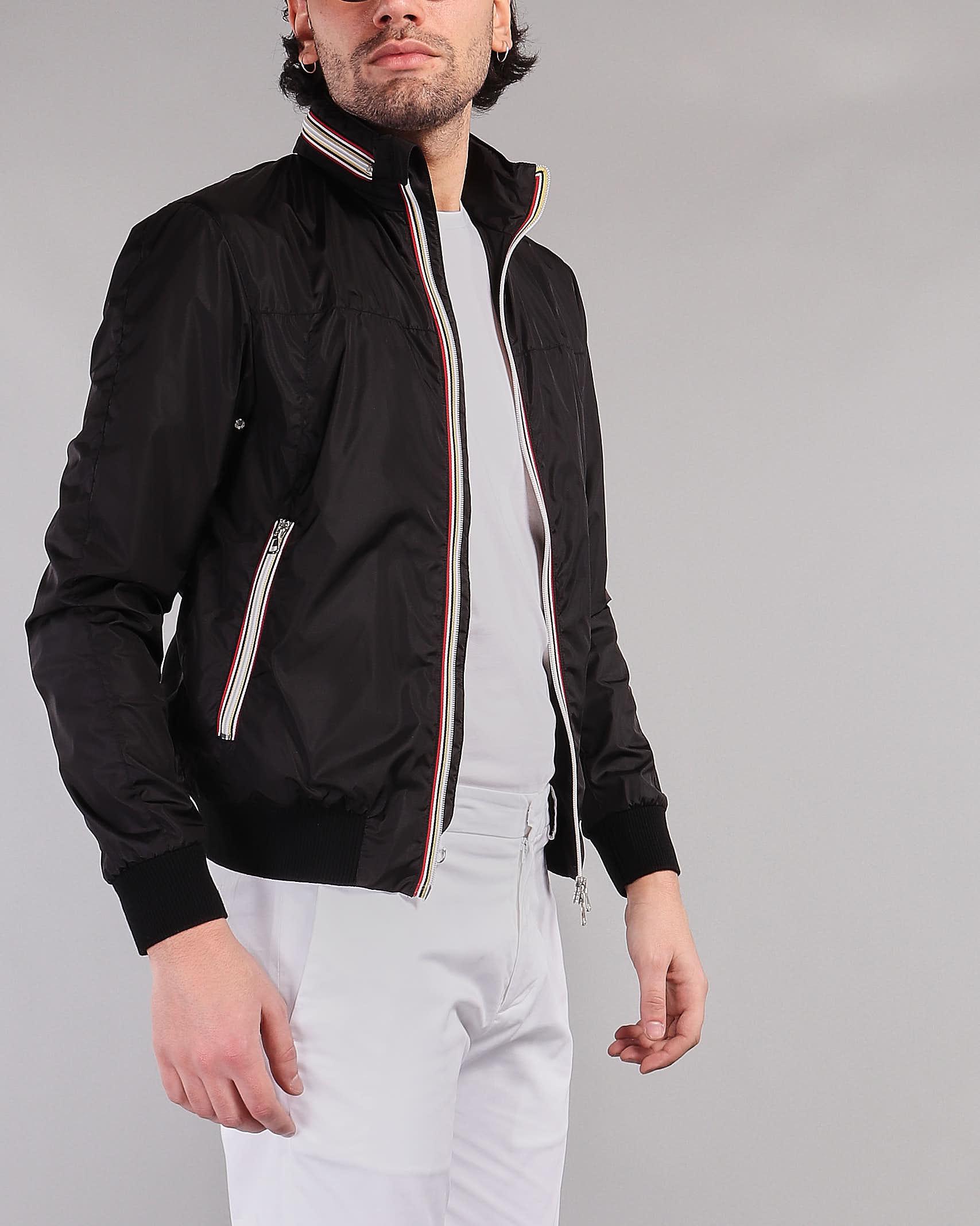 Giubbotto con zip colorata Low Brand LOW BRAND | Giubbotto | L1JSS215858D001
