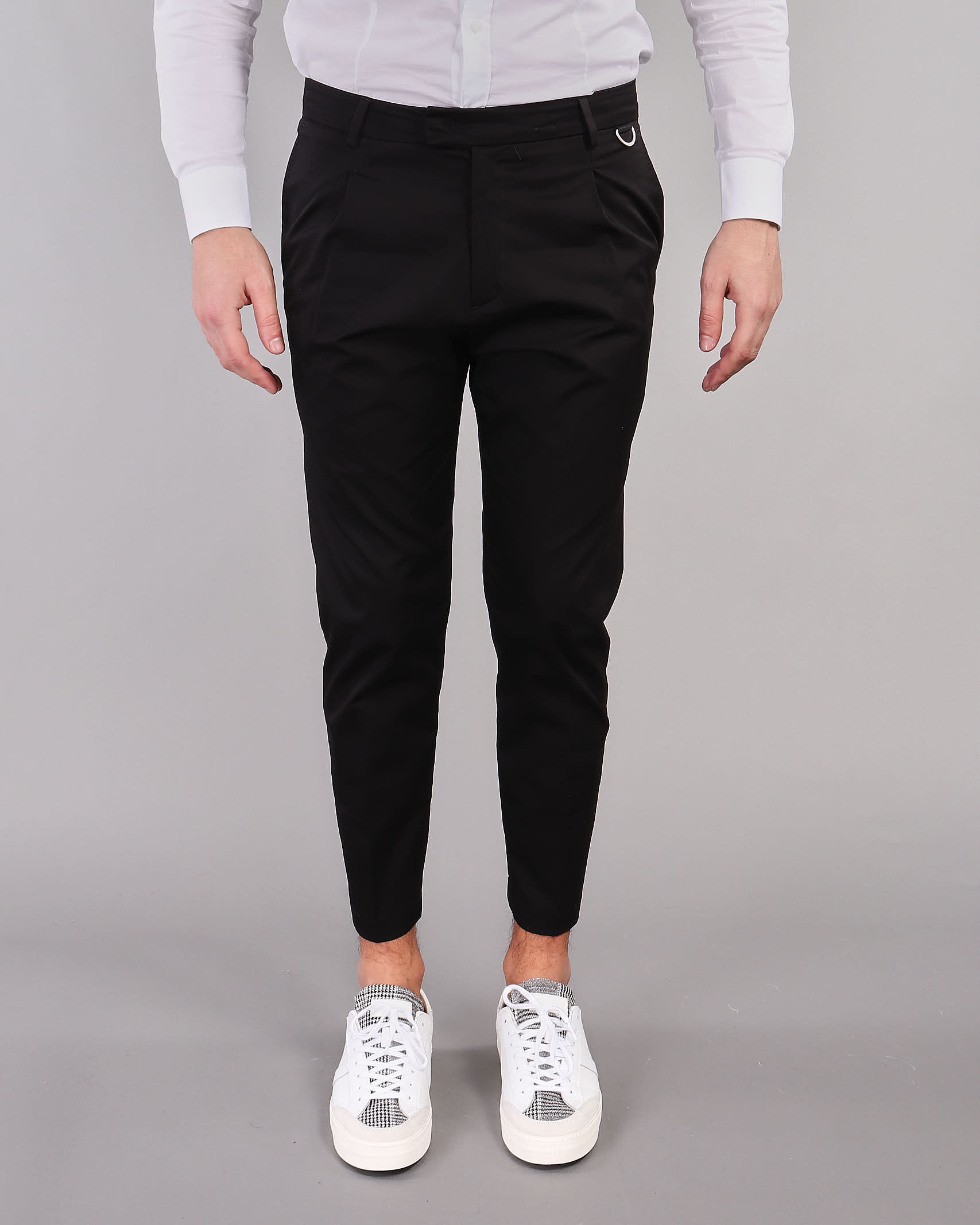 Pantalone in cotone con pences Low Brand LOW BRAND | Pantalone | L1PSS215693D001