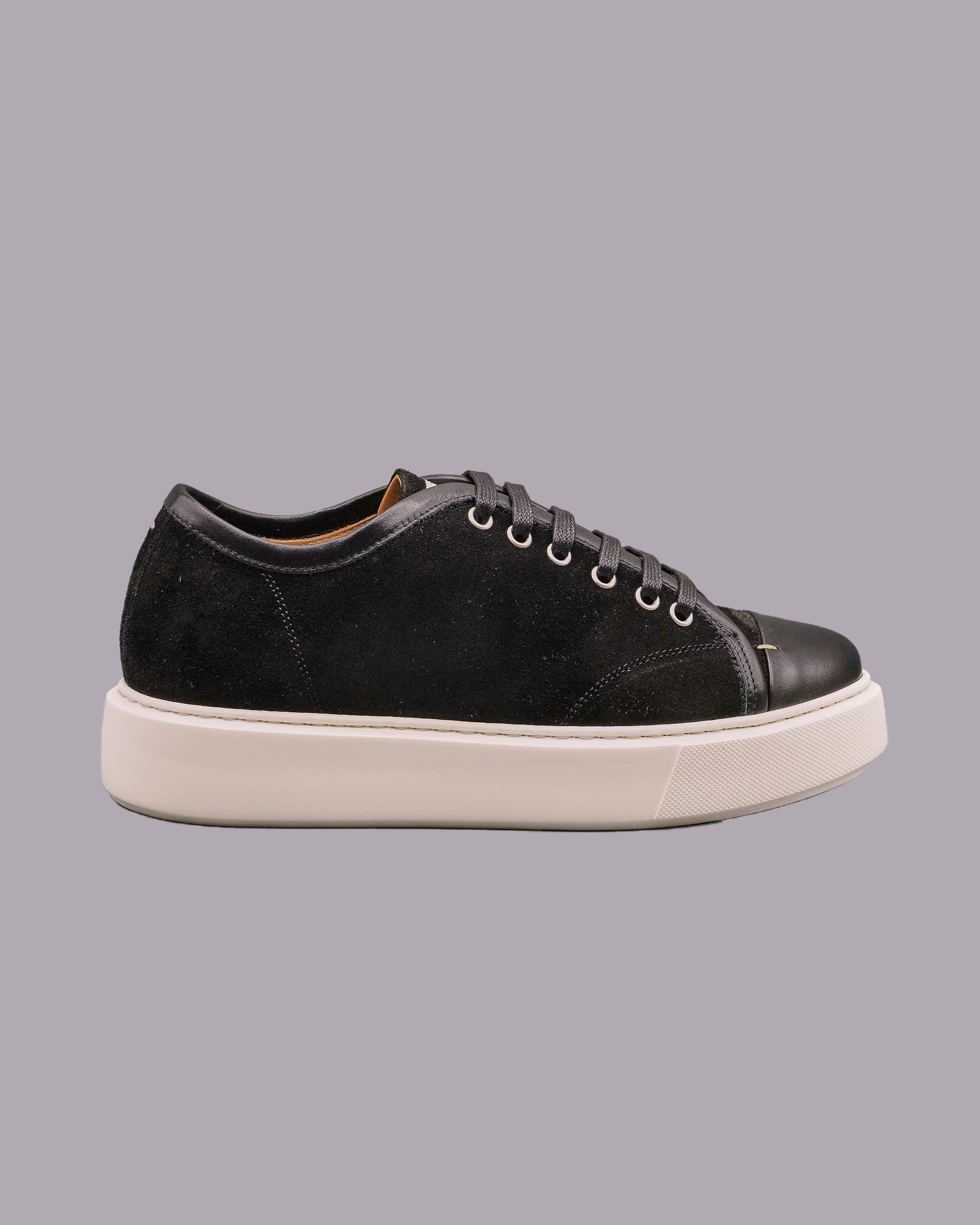 Sneakers in camoscio con inserti in pelle Low Brand LOW BRAND   Sneakers   L1SSS215954D001