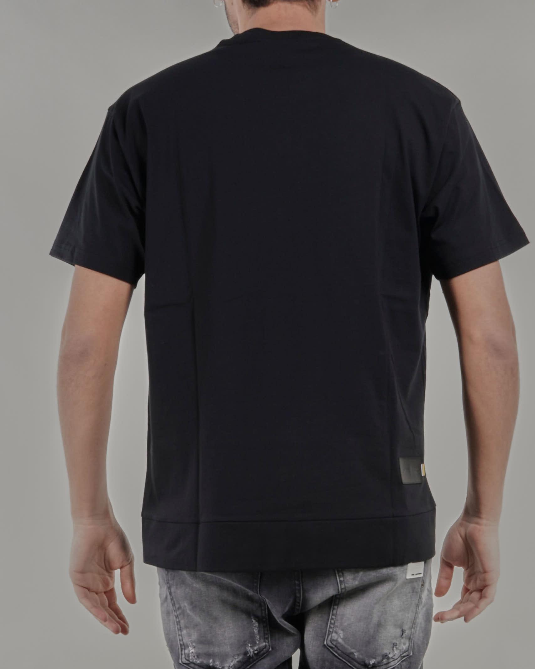 T-shirt con tasca e zip colorata sul davanti Low Brand LOW BRAND | T-shirt | L1TSS215690D001
