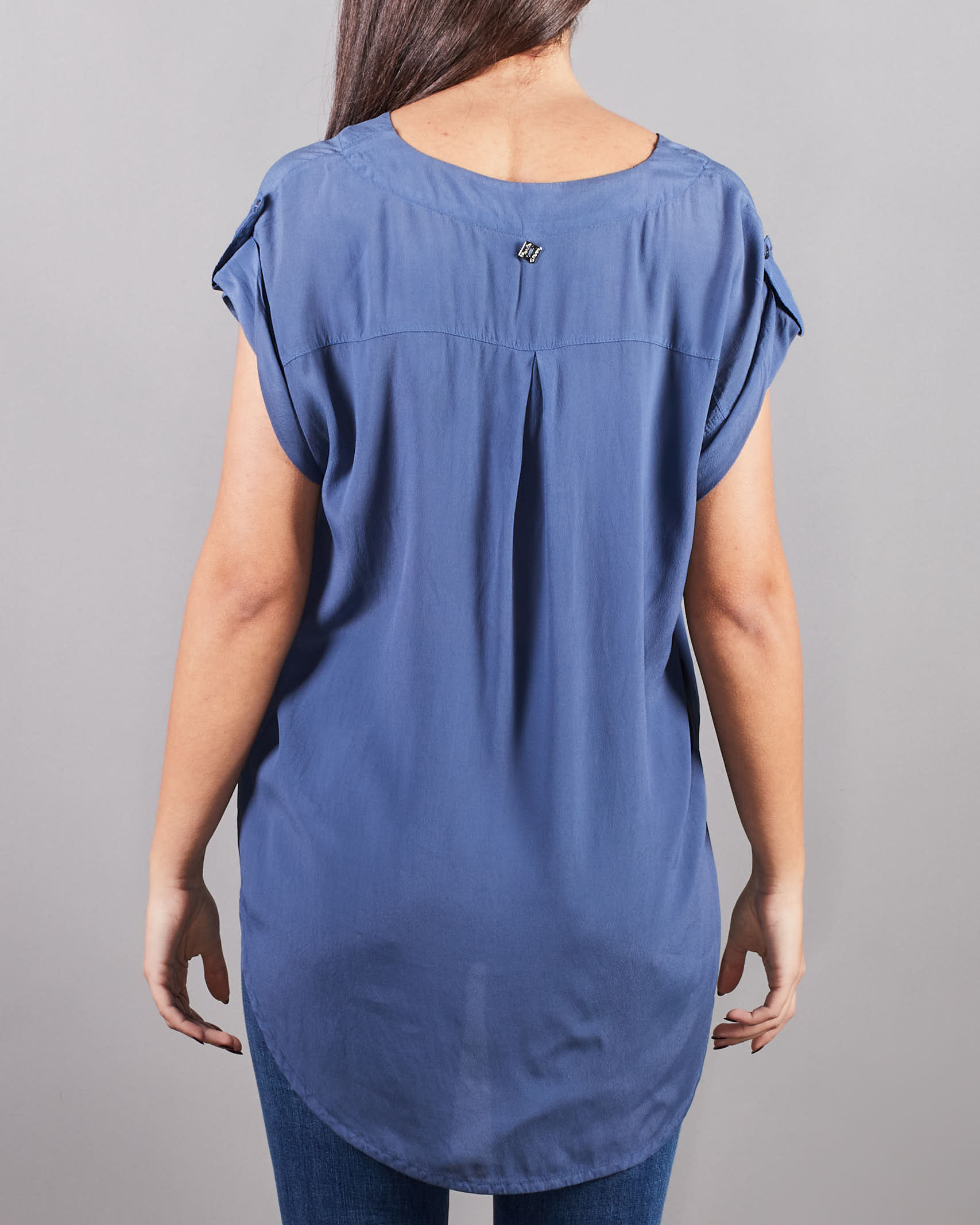 Blusa senza maniche Manila Grace MANILA GRACE   Camicia   C193VCMA011