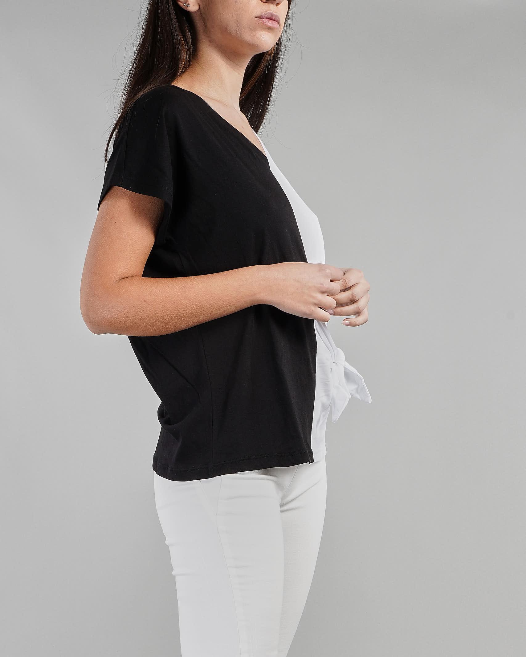 T-shirt bicolo Manila Grace MANILA GRACE   T-shirt   T403CUMA052