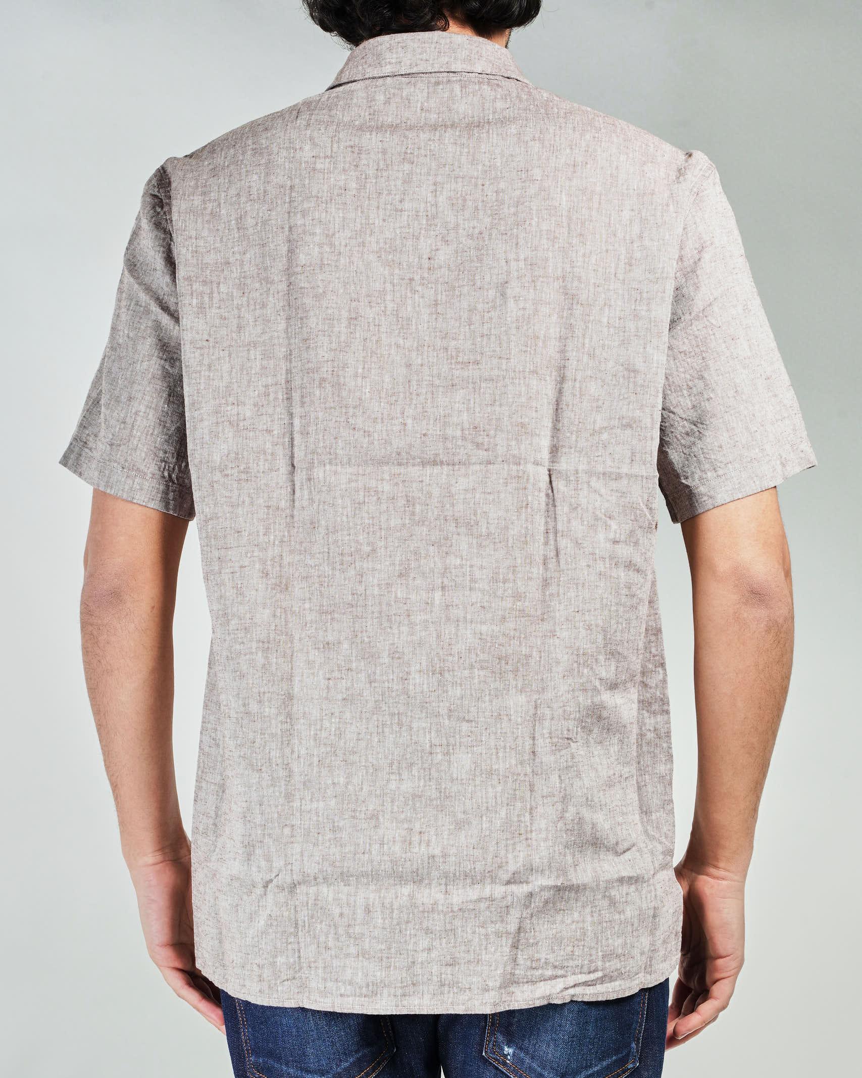 Camicia di lino a maniche corte Manuel Ritz MANUEL RITZ   Camicia   3032E607L21323725