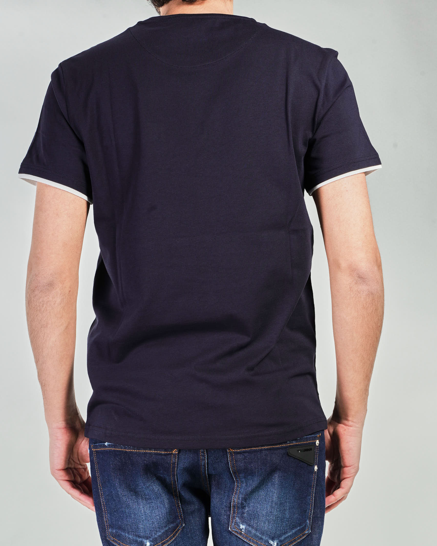 T-shirt con profili a contrasto Manuel Ritz MANUEL RITZ   T-shirt   3032M55121329389
