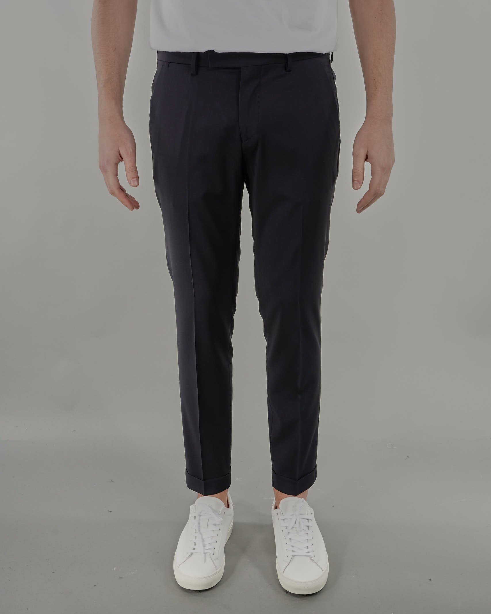 Pantalone in fresco lana Michael Coal MICHAEL COAL   Pantalone   BRAAM03667S21CBLU