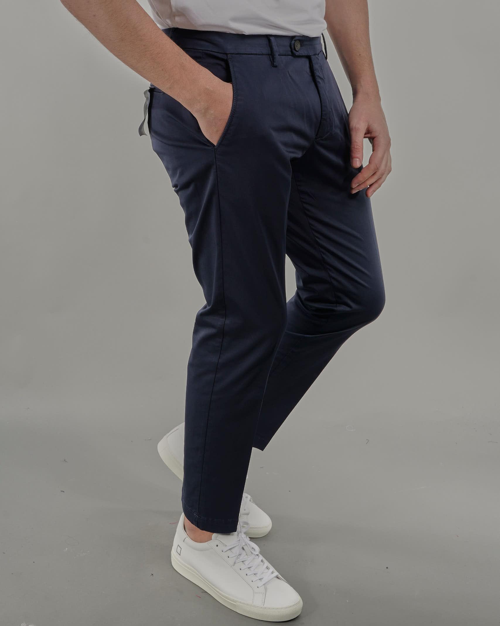 Pantalone in cotone Michael Coal MICHAEL COAL | Pantalone | BRAMDS2564BLU