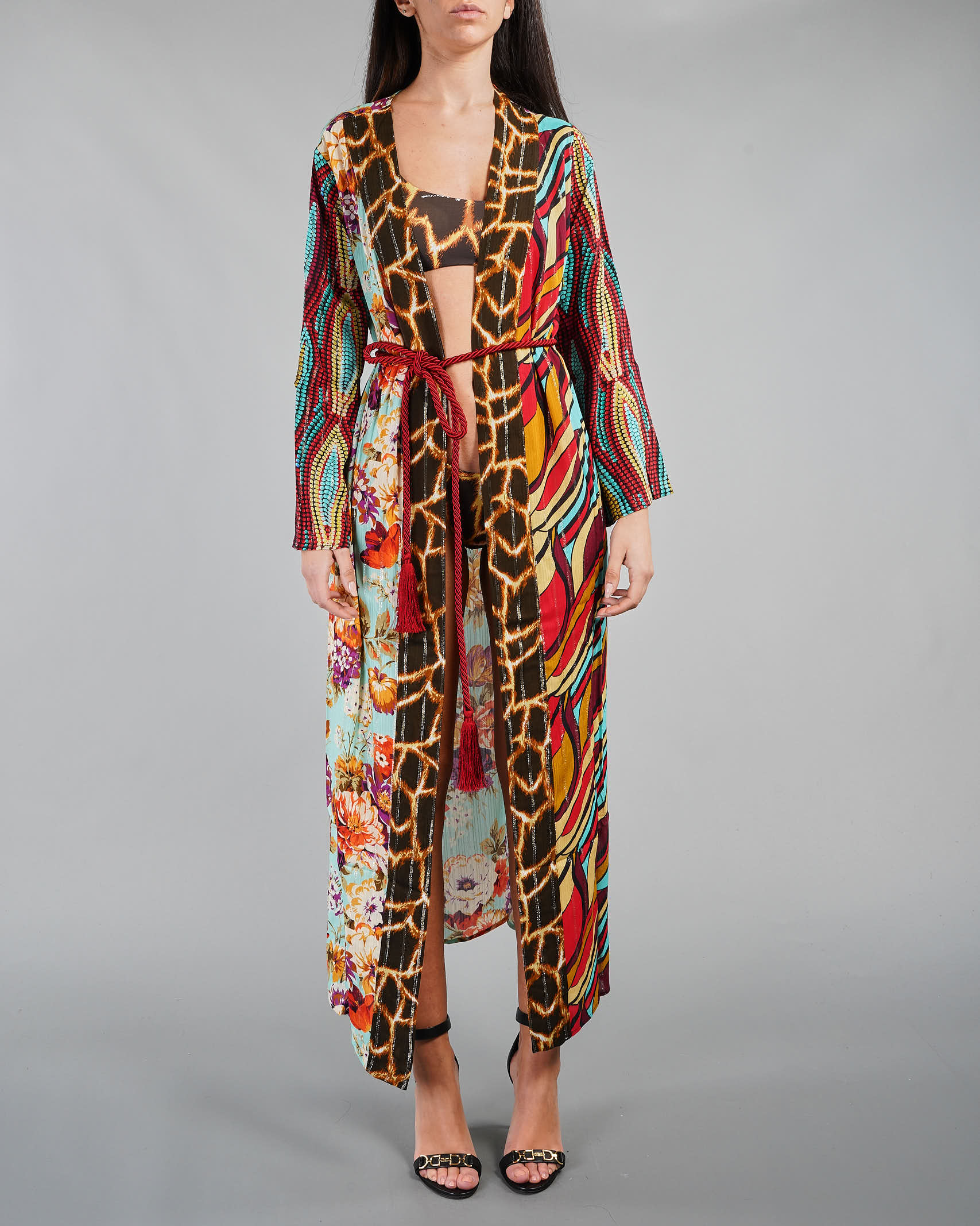 Kaftano a vestaglia patchwork Miss Bikini MISS BIKINI | Kaftano | V1008DFIVE