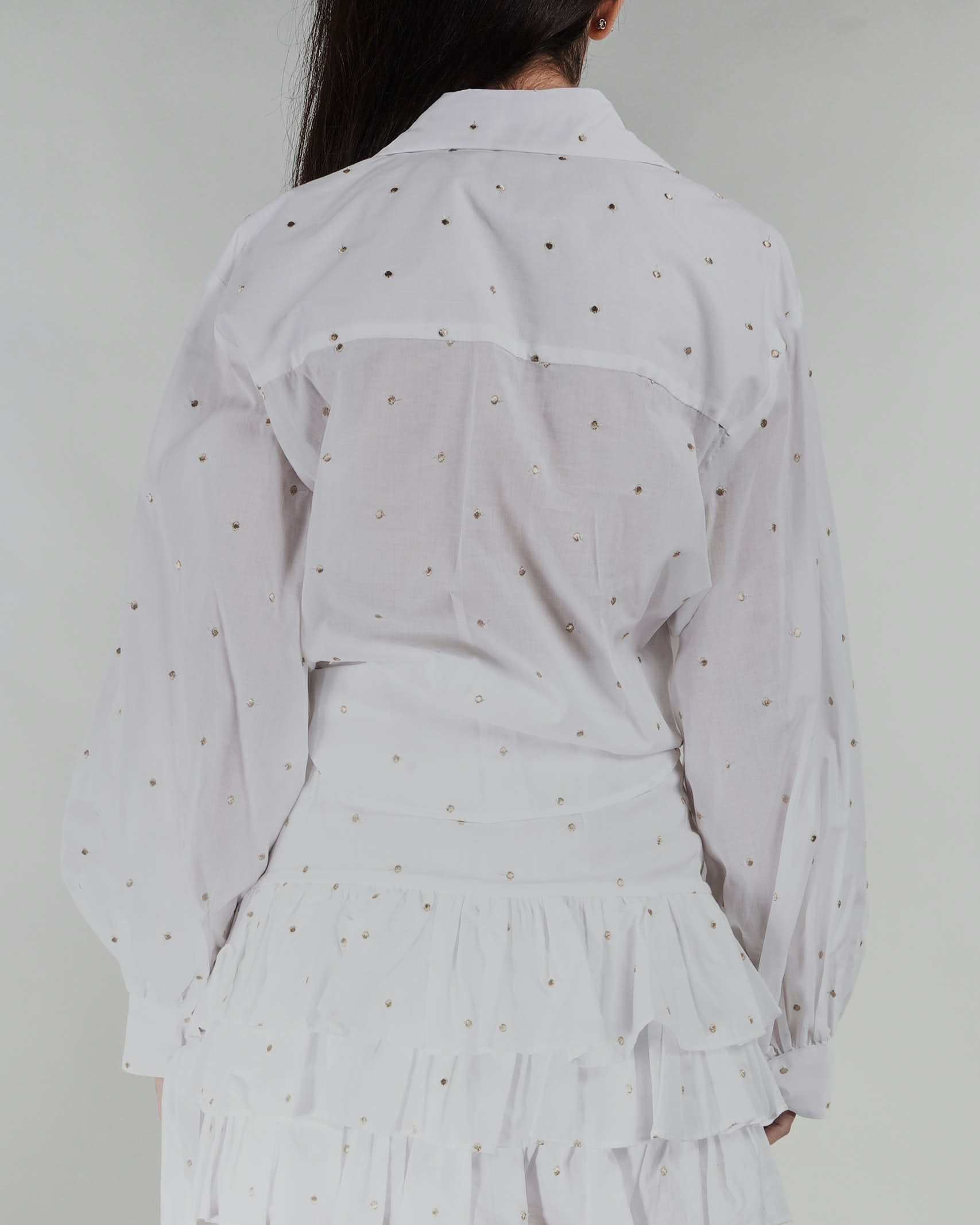Camicia in cotone Never Be The Same NEVER BE THE SAME | Camicia | 21017BIANCO