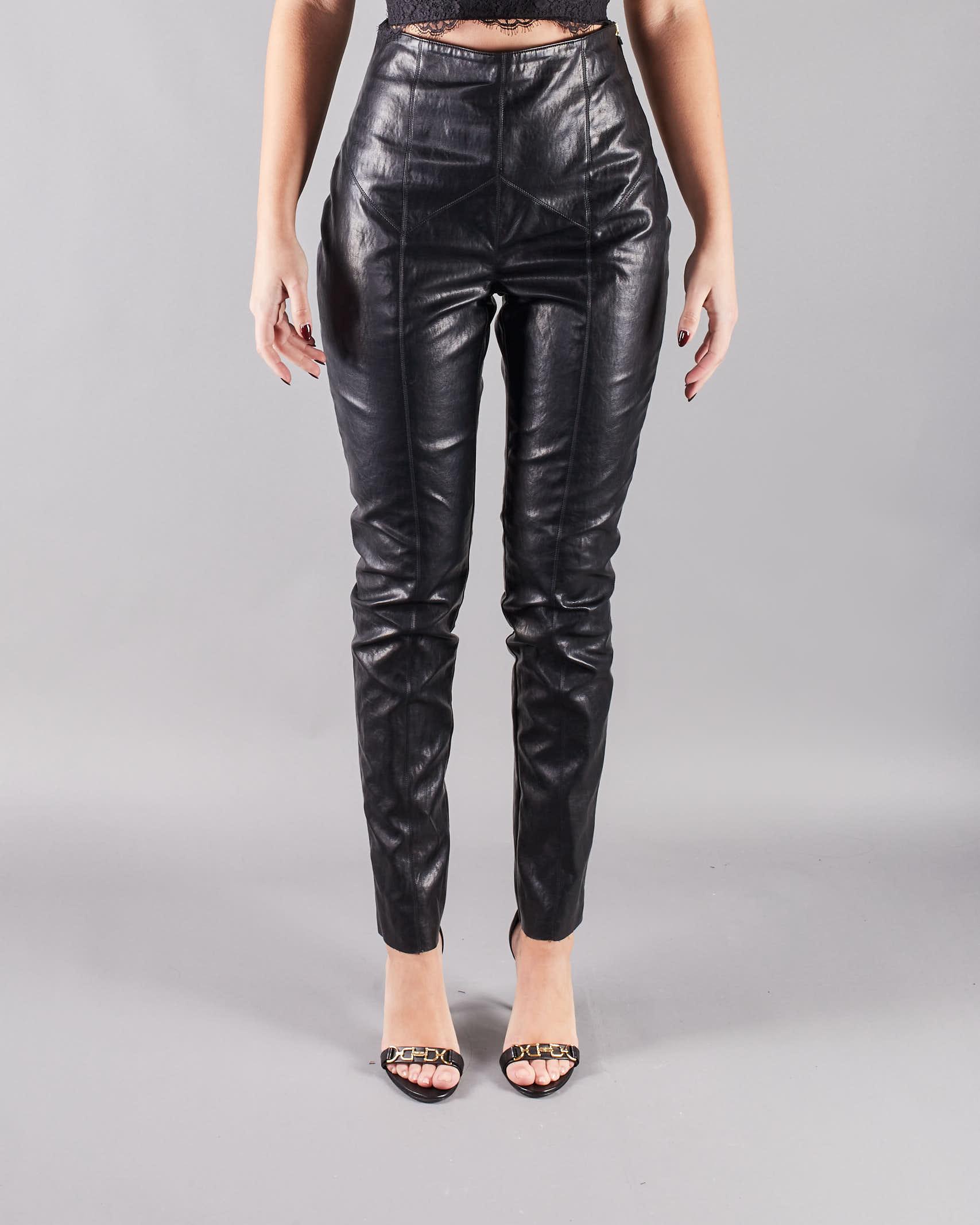 Pantalone skinny ecopelle Nineminutes NINEMINUTES | Pantalone | LEATHERNERO