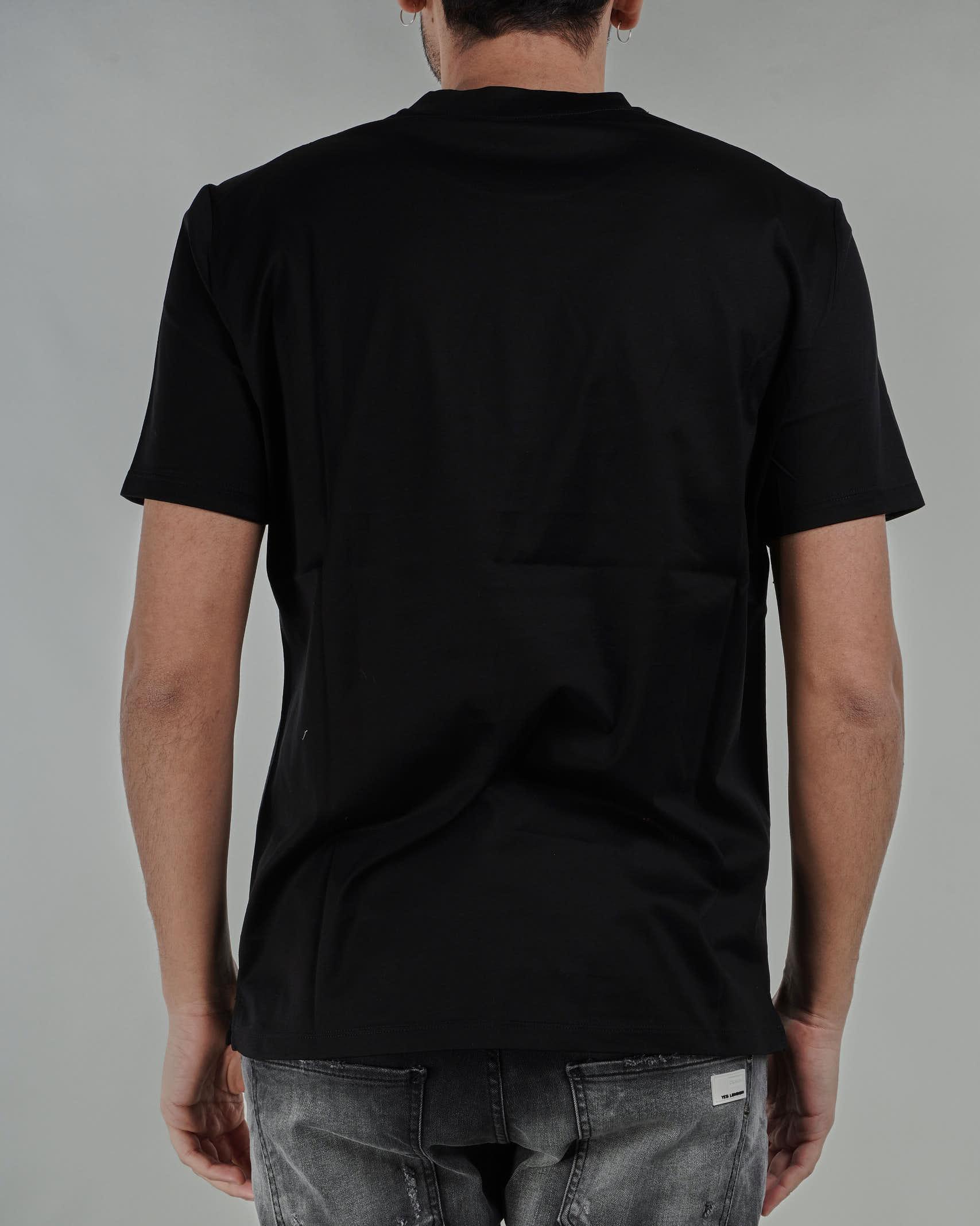 T-shirt basic in cotone Paolo Pecora PAOLO PECORA   T-shirt   F07140549000