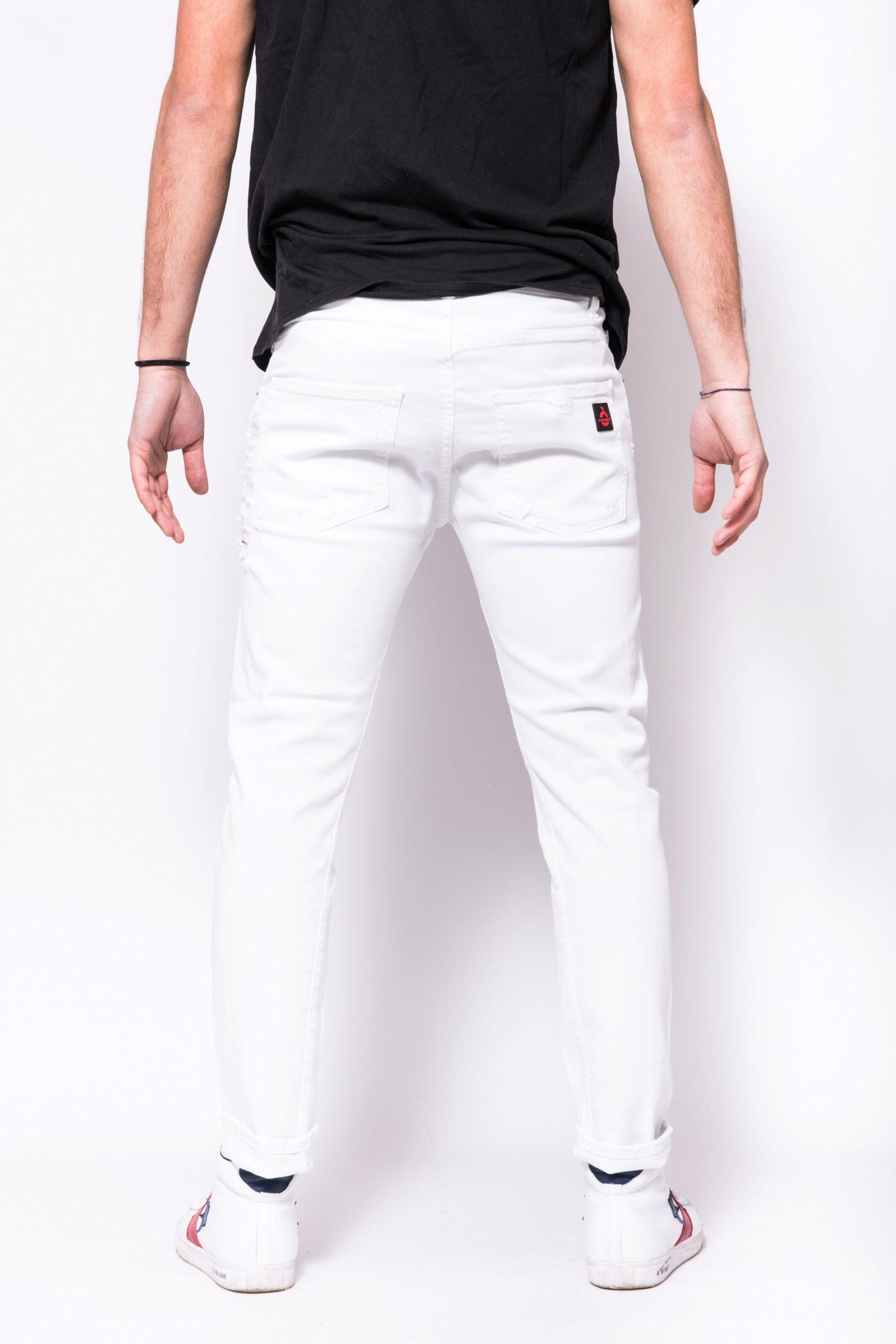 Pantalo in denim di coton bestseller Patriot PATRIOT | Jeans | PKAY880BIANCO